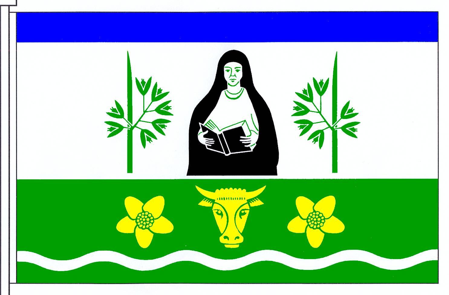 Flagge GemeindeAebtissinwisch, Kreis Steinburg