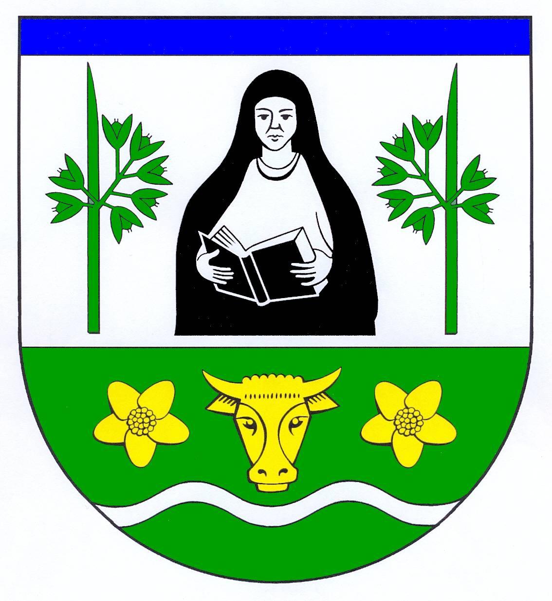 Wappen GemeindeAebtissinwisch, Kreis Steinburg