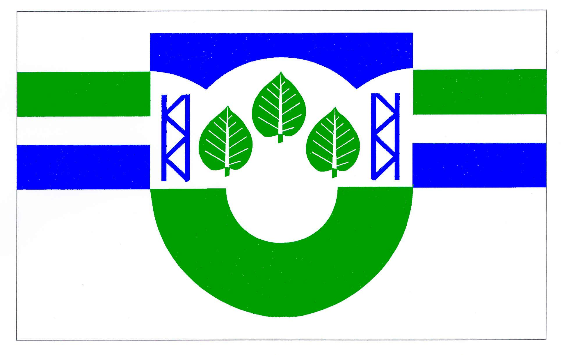 Flagge GemeindeAgethorst, Kreis Steinburg