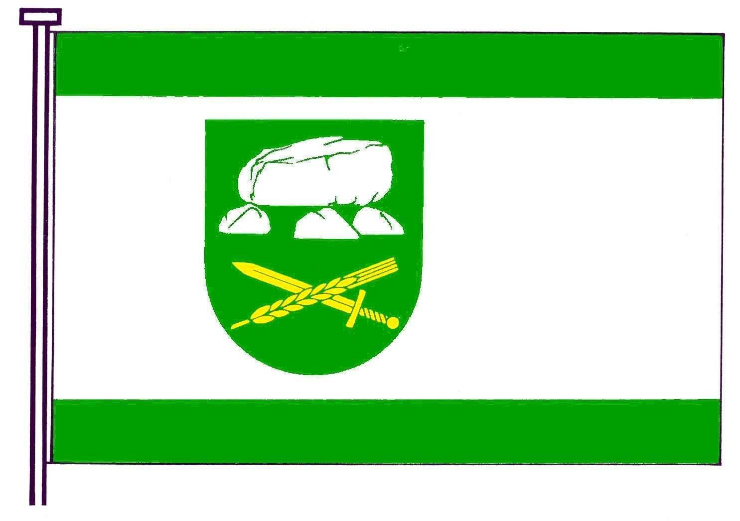Flagge GemeindeAlbersdorf, Kreis Dithmarschen