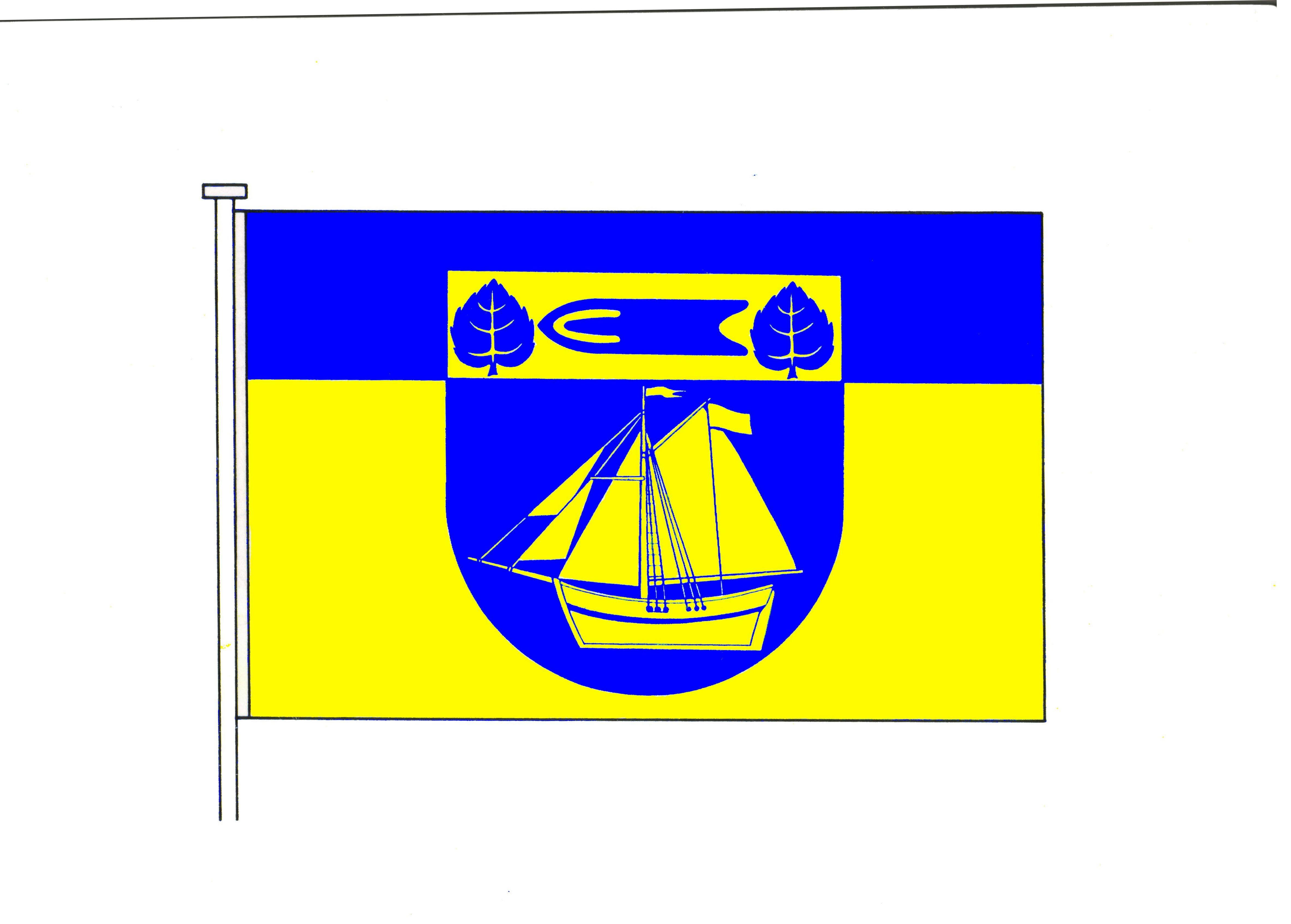 Flagge StadtArnis, Kreis Schleswig-Flensburg