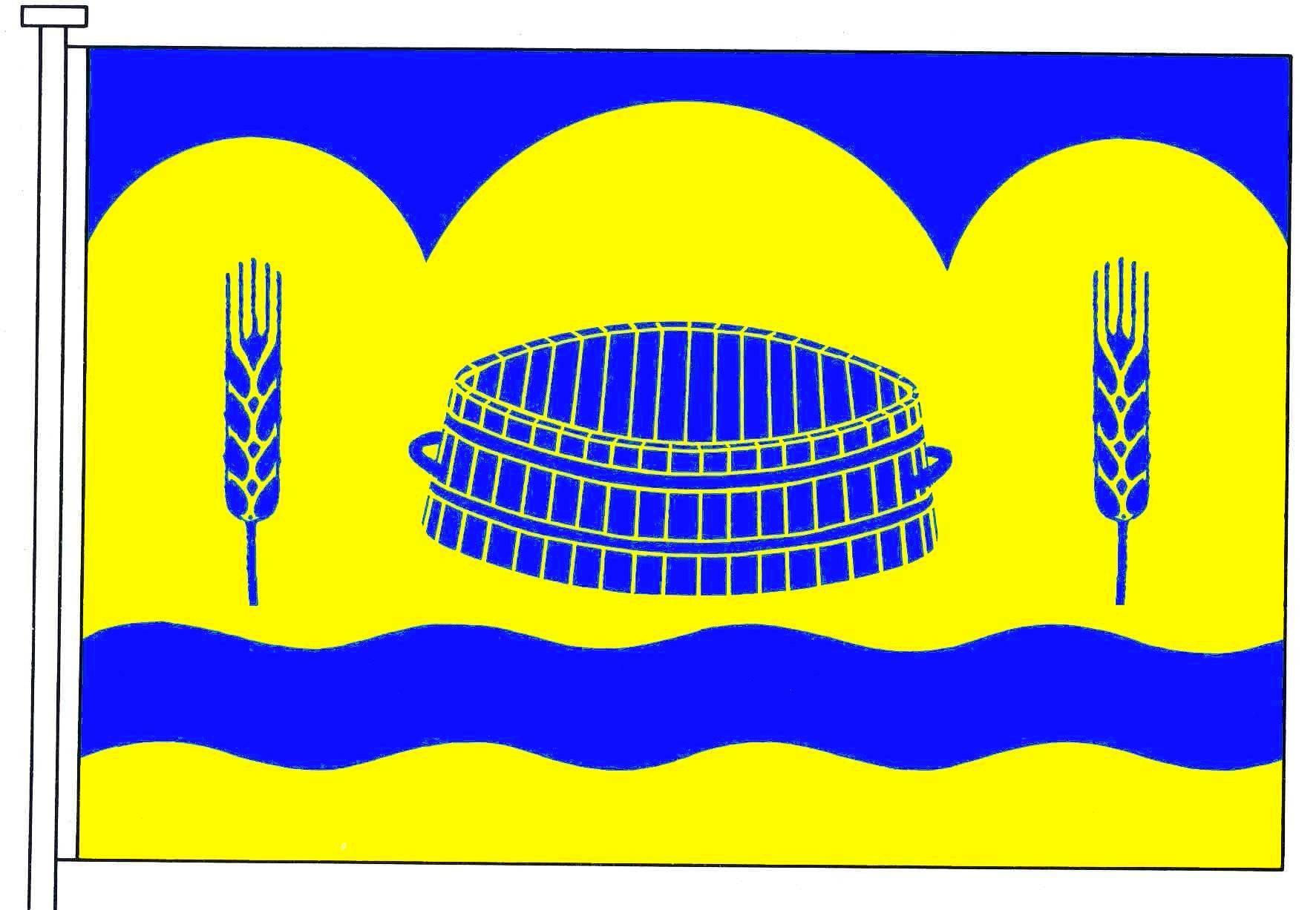 Flagge GemeindeAscheffel, Kreis Rendsburg-Eckernförde