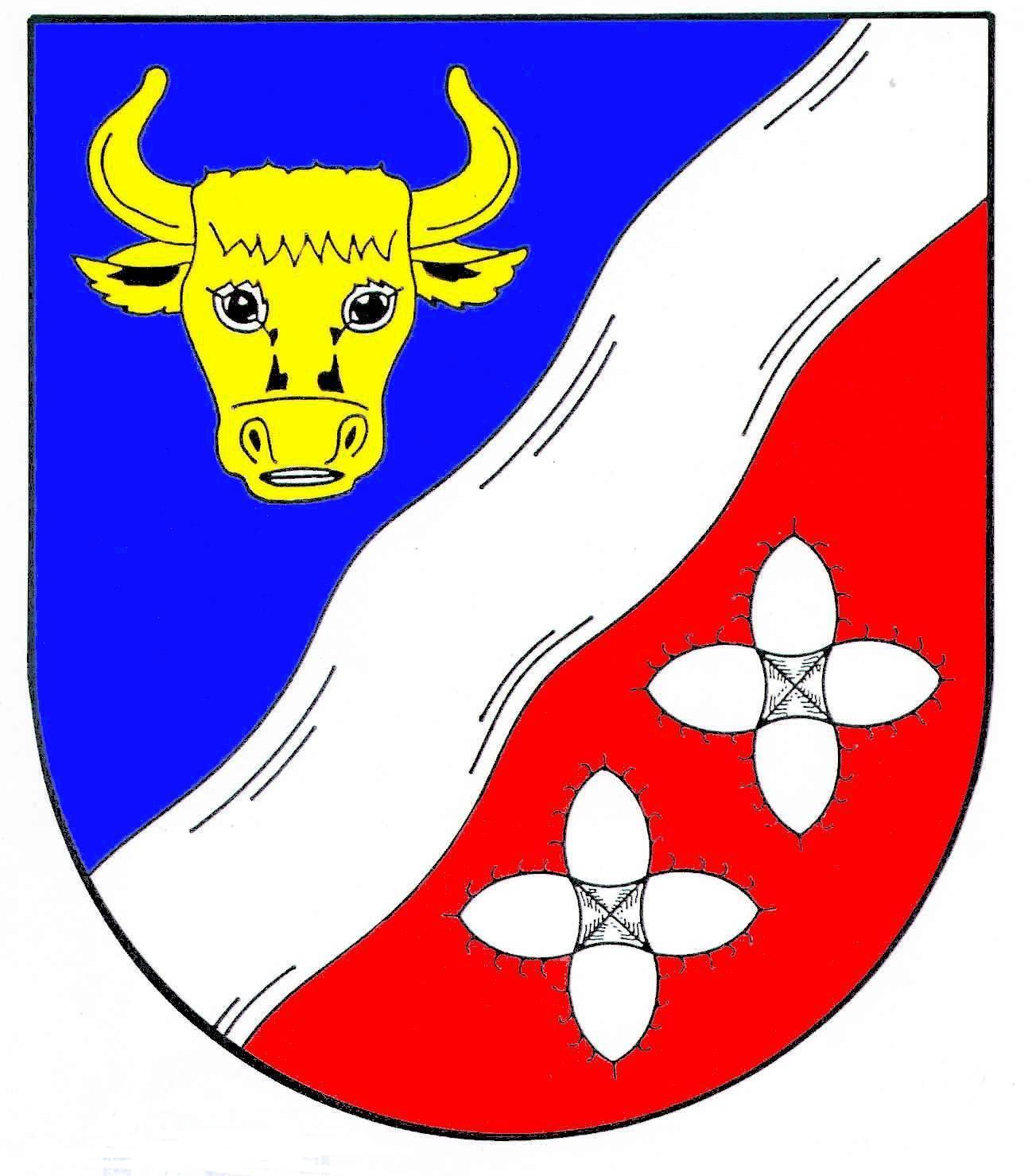 Wappen GemeindeAusacker, Kreis Schleswig-Flensburg