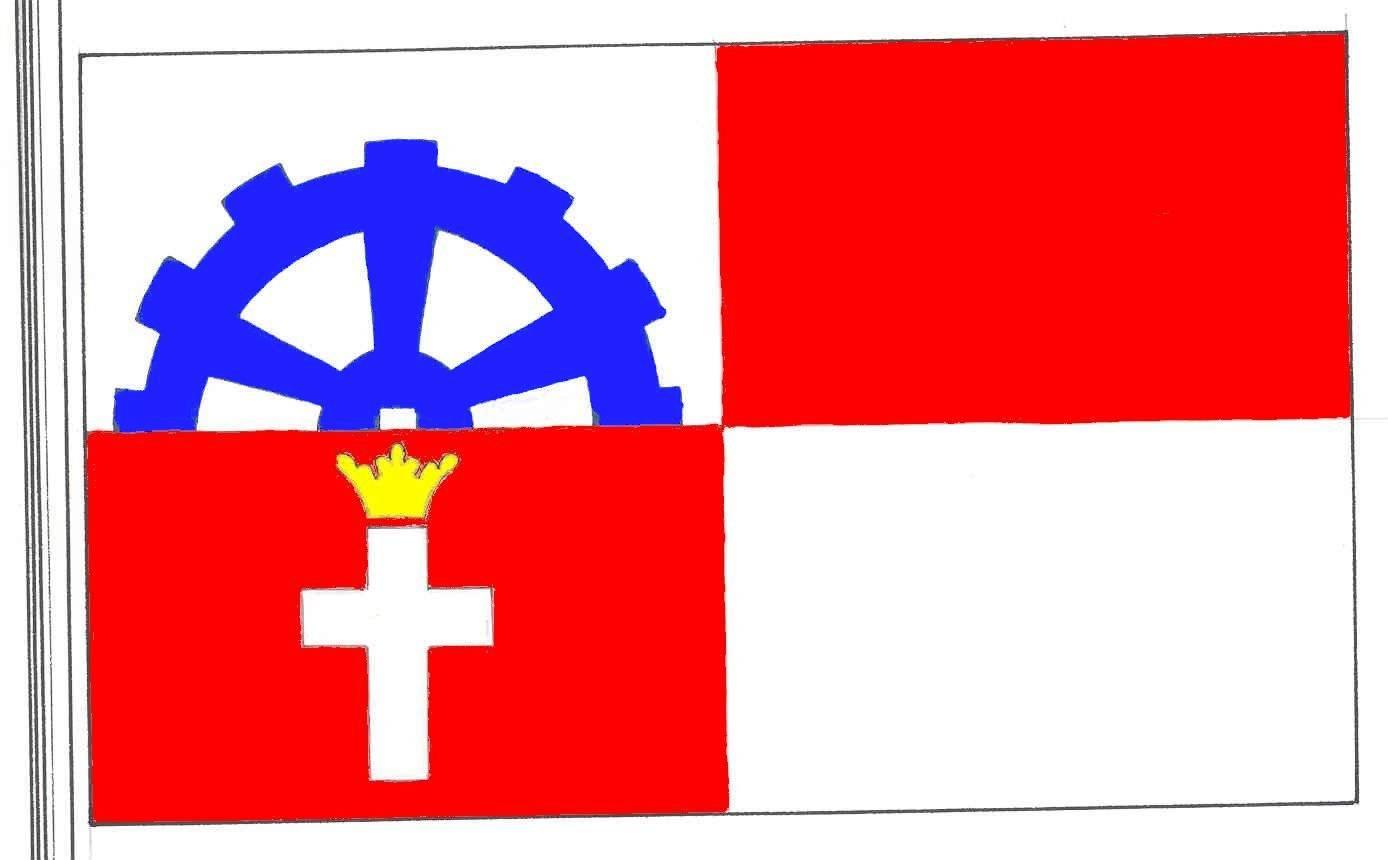 Flagge GemeindeBäk, Kreis Herzogtum Lauenburg