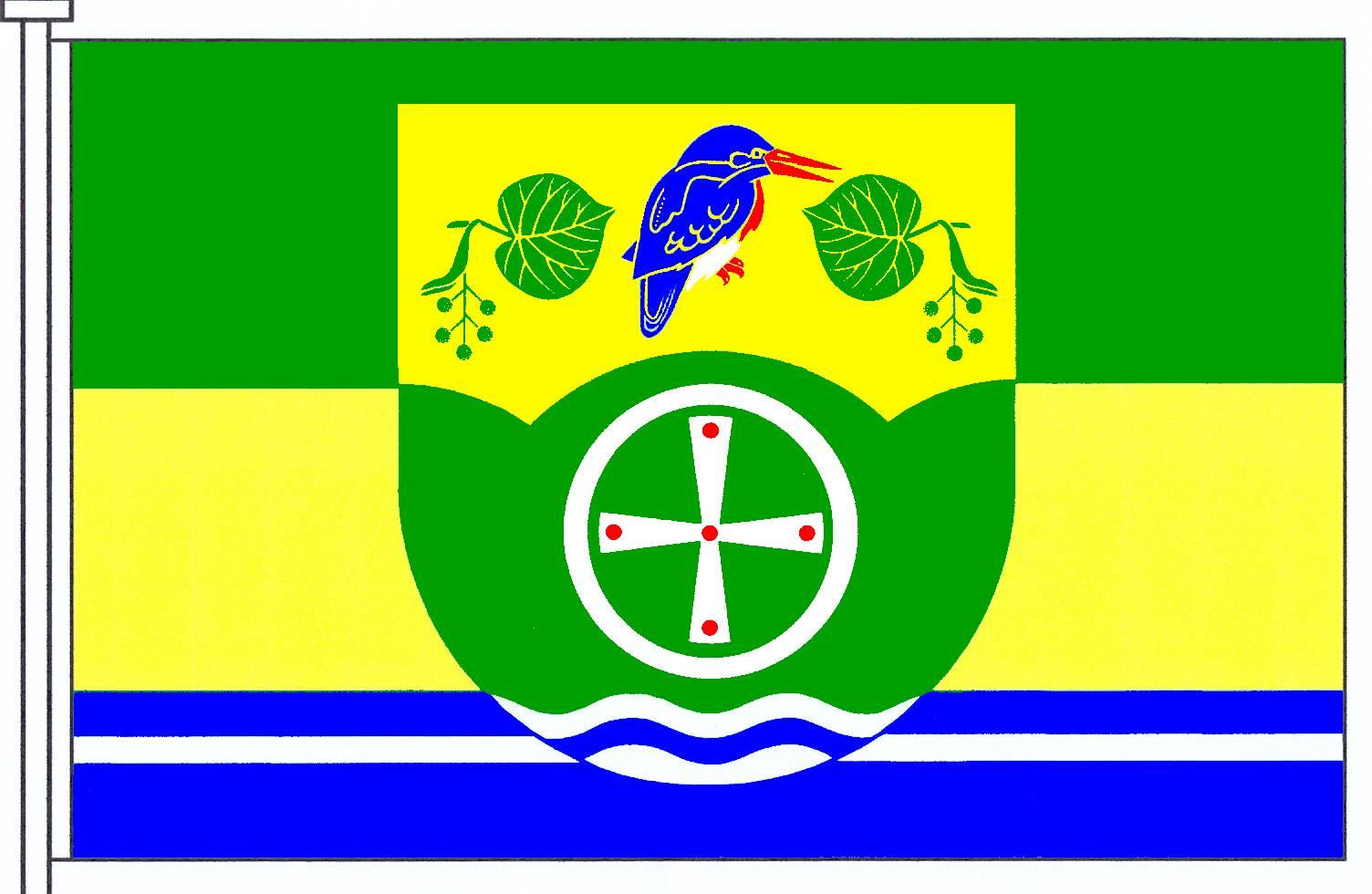 Flagge GemeindeBälau, Kreis Herzogtum Lauenburg