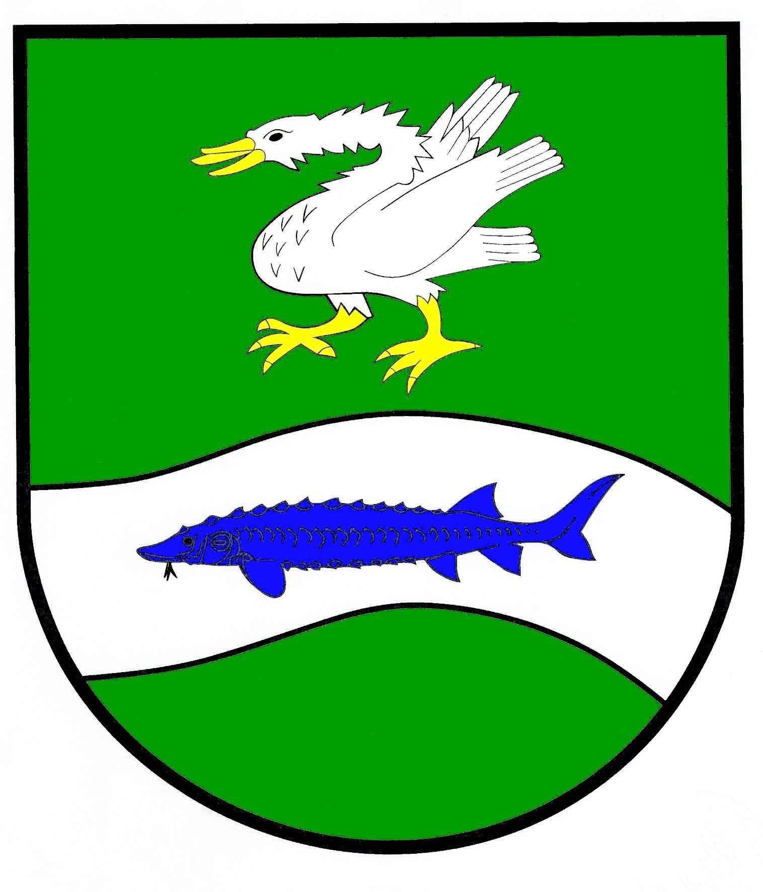 Wappen GemeindeBahrenfleth, Kreis Steinburg