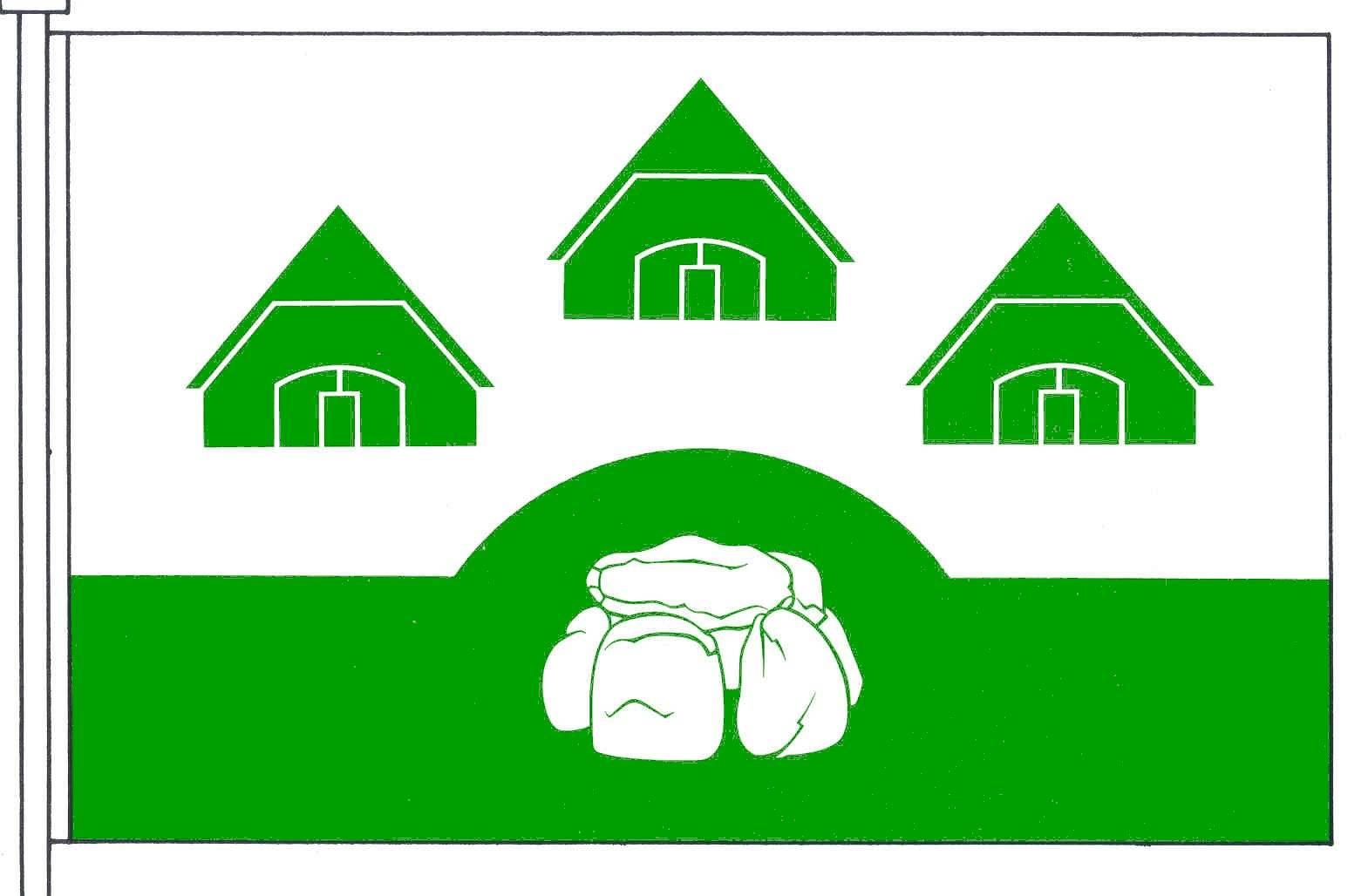 Flagge GemeindeBargenstedt, Kreis Dithmarschen