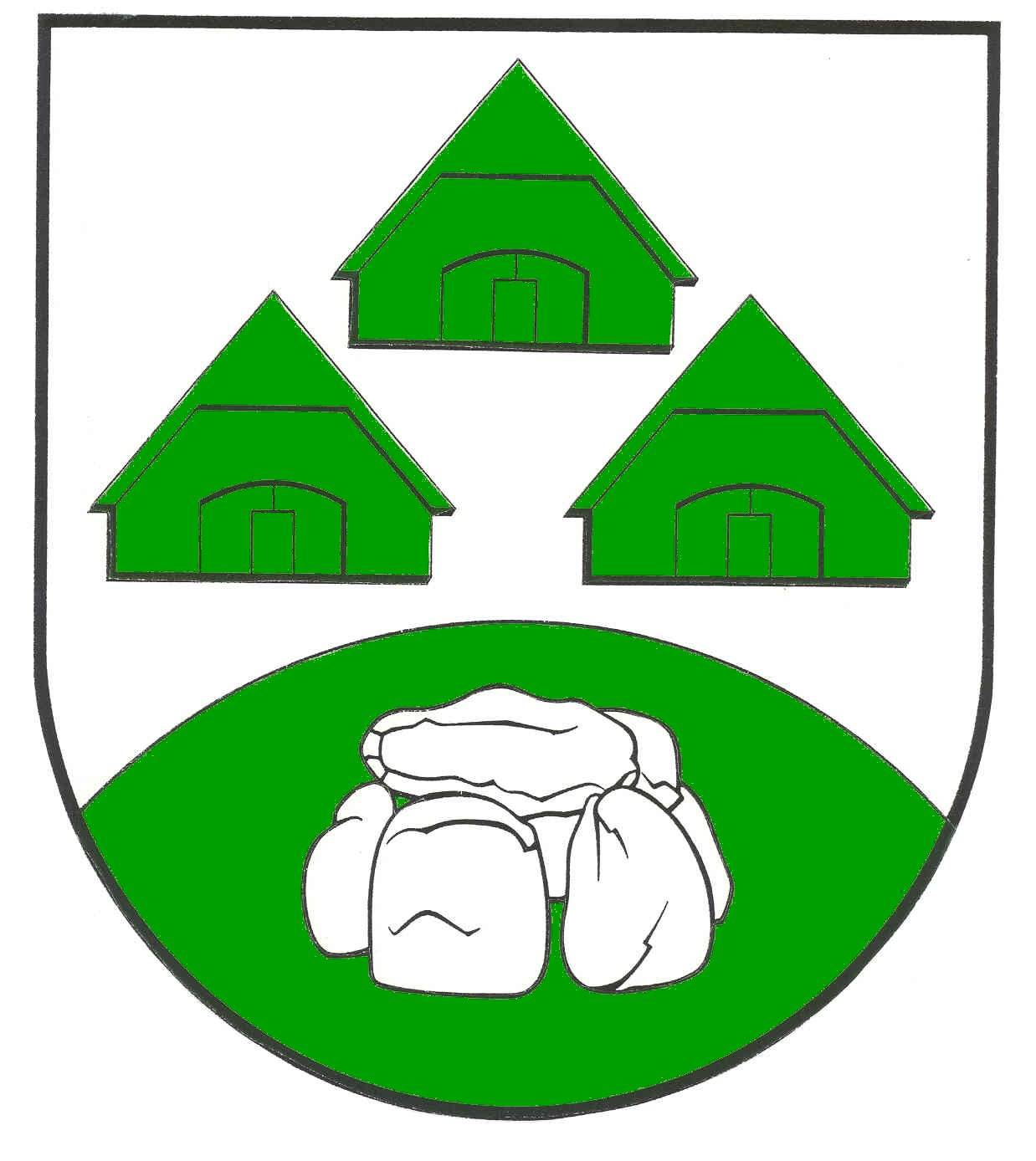 Wappen GemeindeBargenstedt, Kreis Dithmarschen