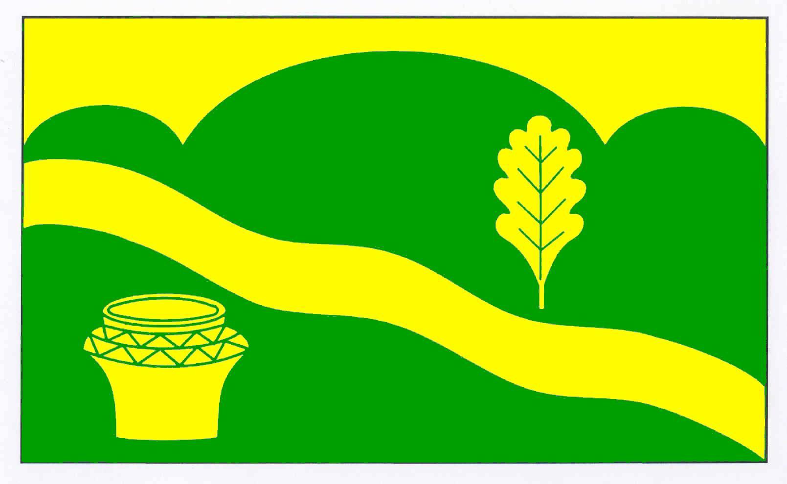 Flagge GemeindeBargstall, Kreis Rendsburg-Eckernförde