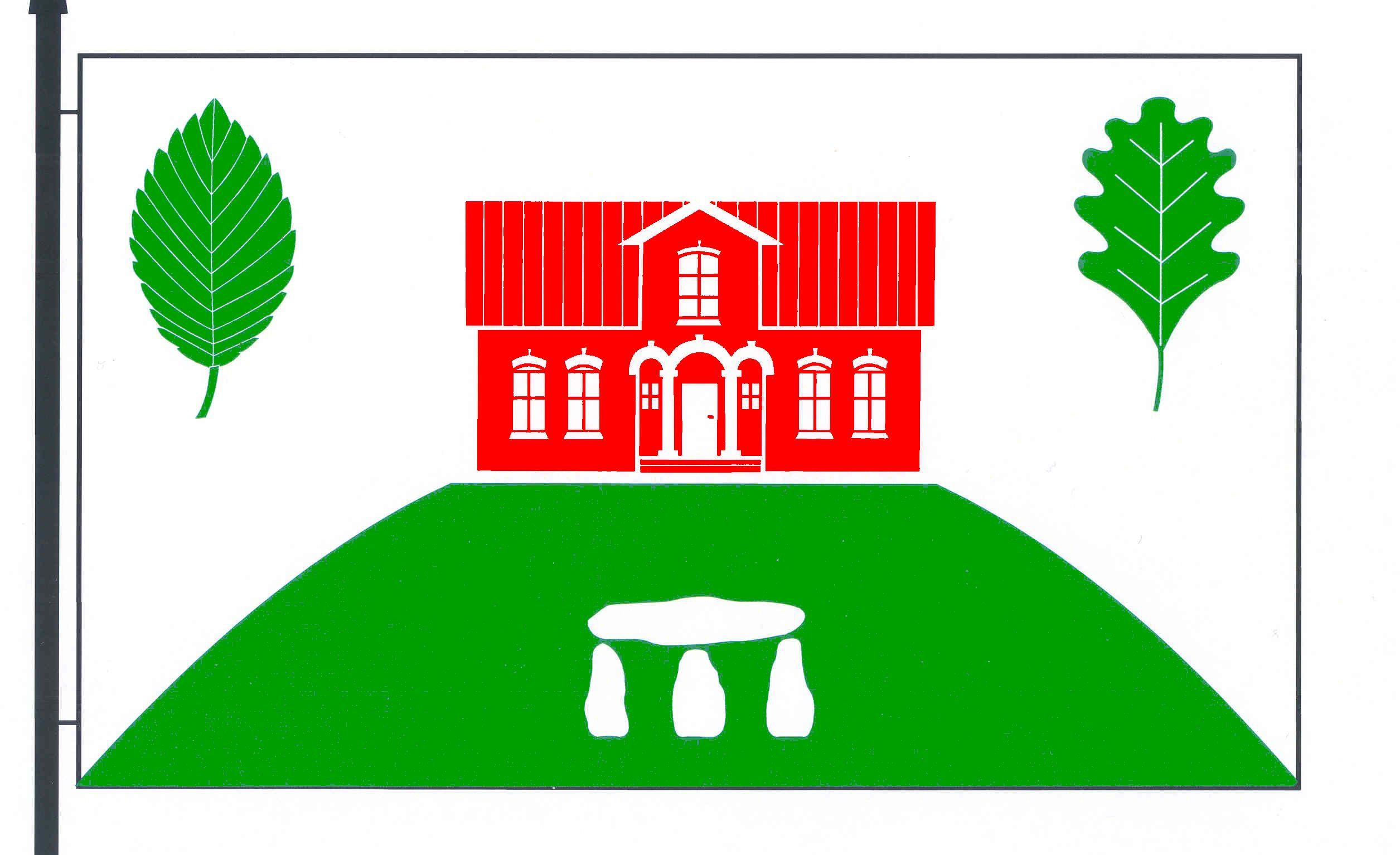 Flagge GemeindeBargstedt, Kreis Rendsburg-Eckernförde