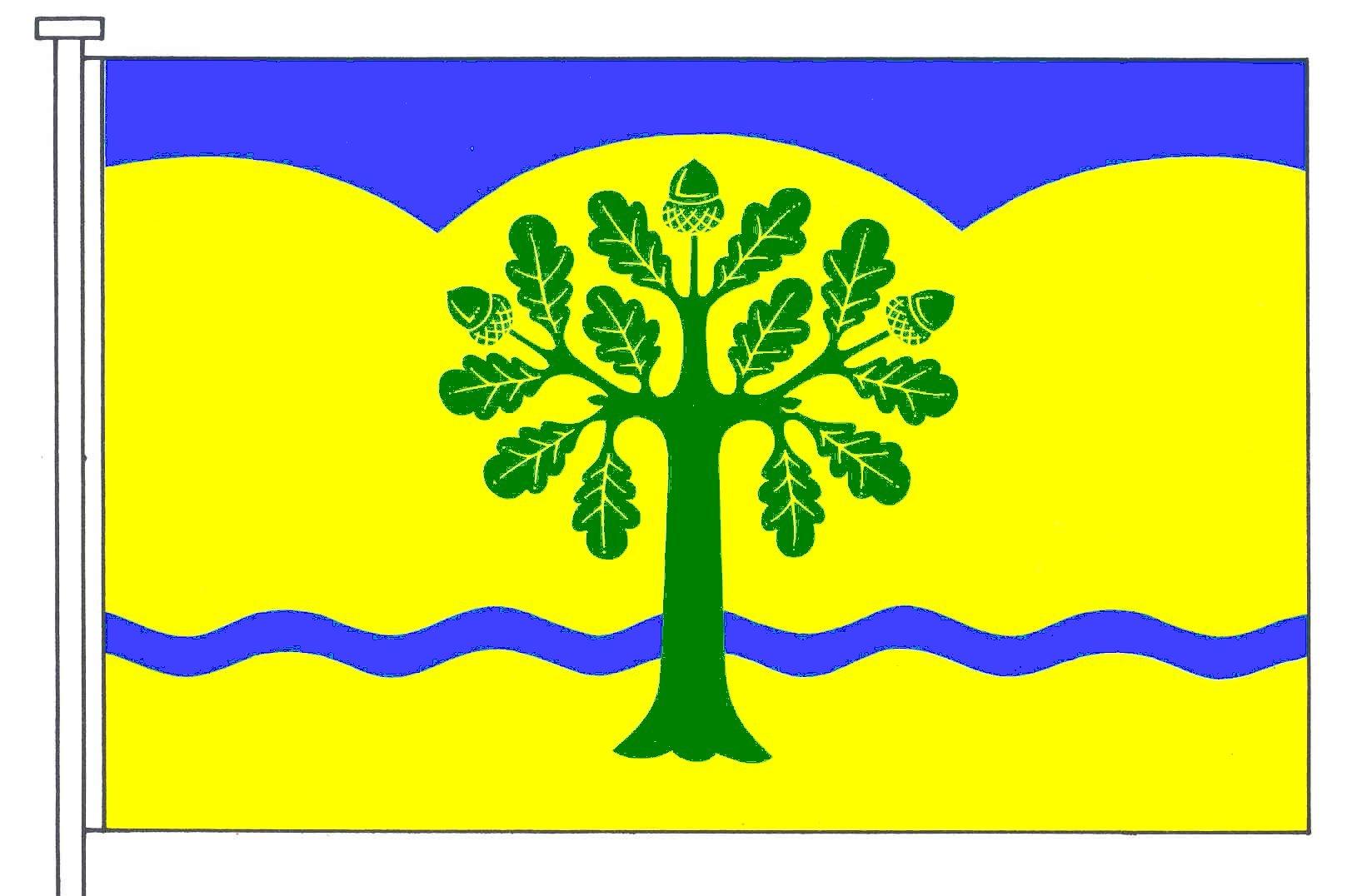 Flagge GemeindeBarkelsby, Kreis Rendsburg-Eckernförde