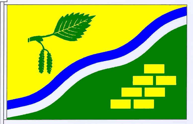 Flagge GemeindeBarkenholm, Kreis Dithmarschen