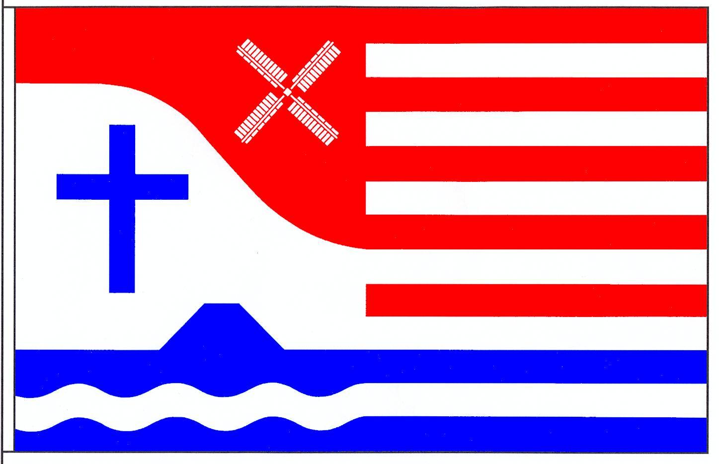 Flagge GemeindeBarlt, Kreis Dithmarschen