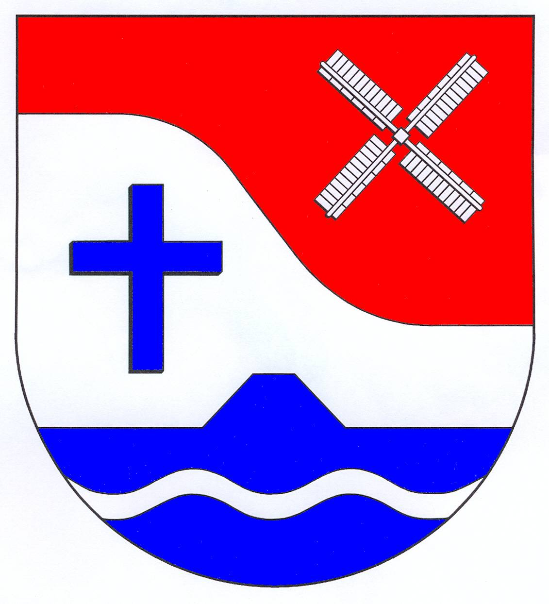Wappen GemeindeBarlt, Kreis Dithmarschen