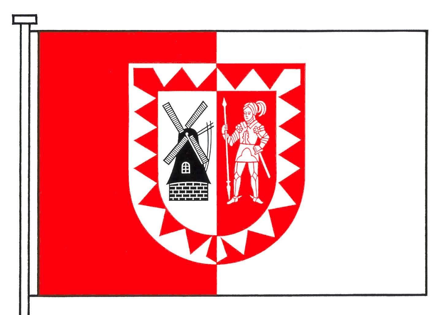 Flagge StadtBarmstedt, Kreis Pinneberg