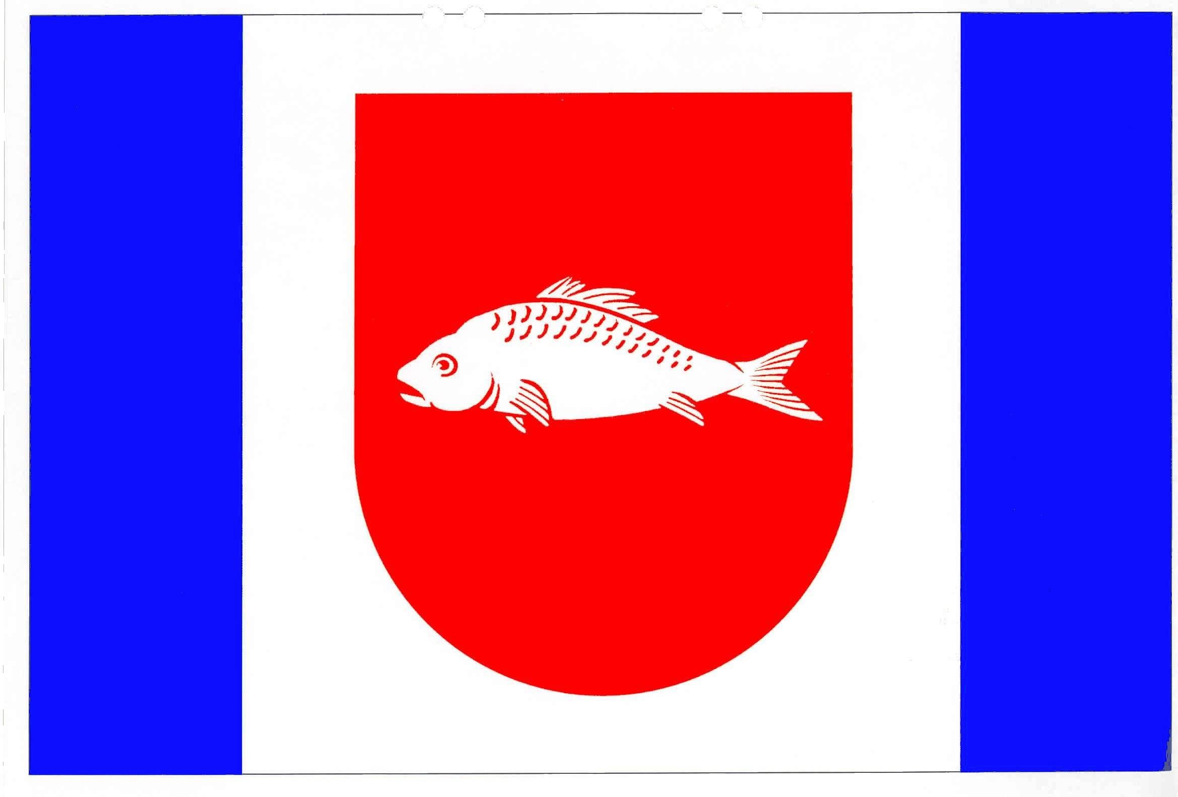 Flagge GemeindeBarsbek, Kreis Plön