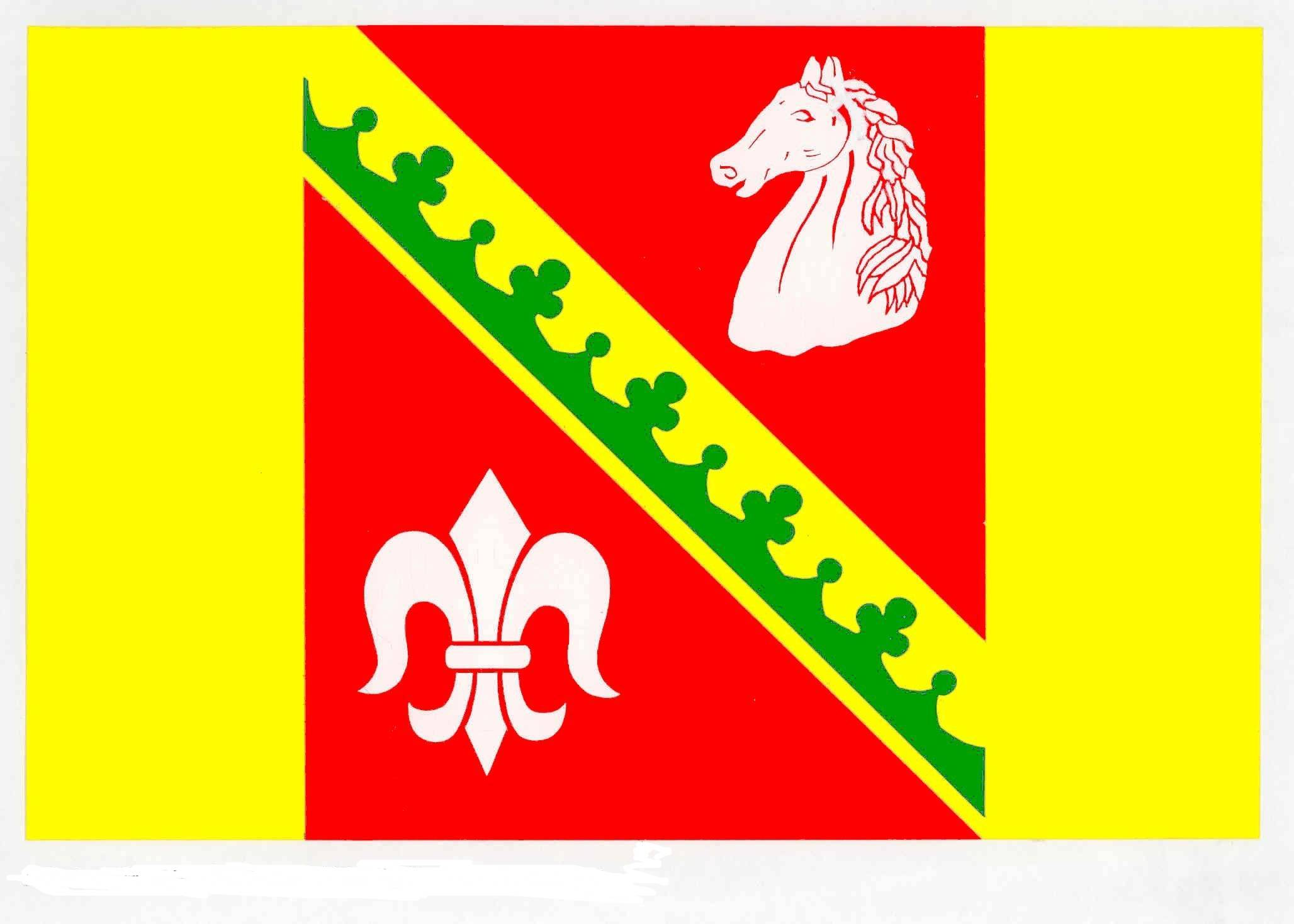 Flagge GemeindeBasthorst, Kreis Herzogtum Lauenburg