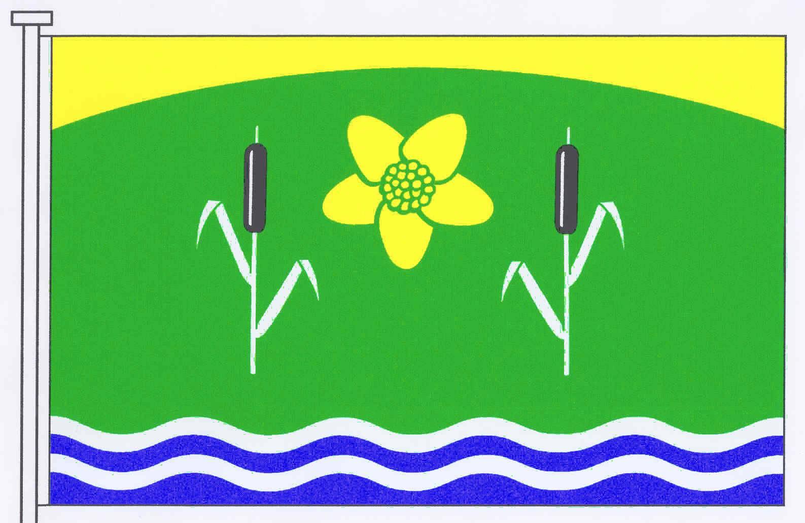 Flagge GemeindeBebensee, Kreis Segeberg