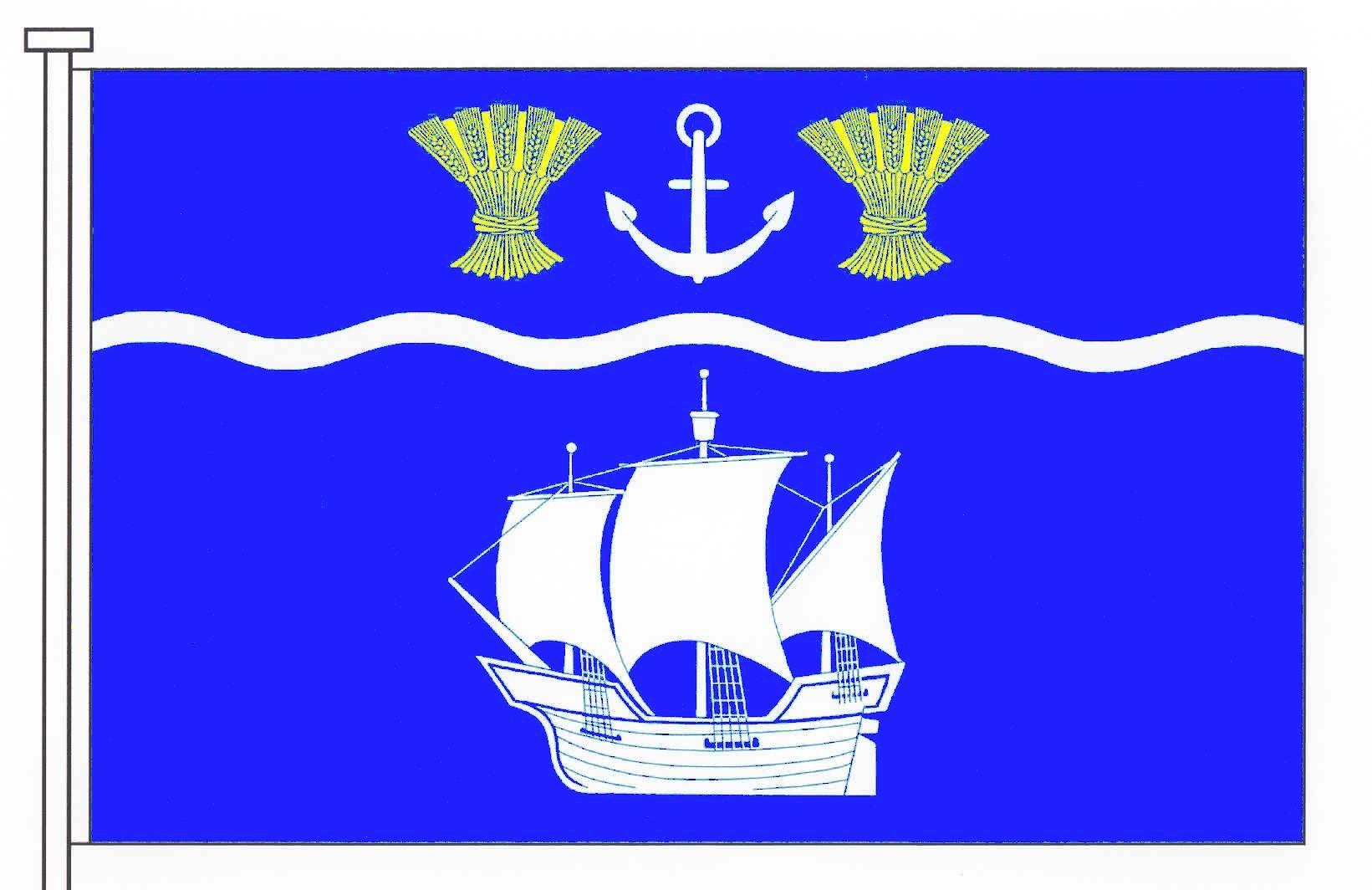 Flagge GemeindeBeidenfleth, Kreis Steinburg