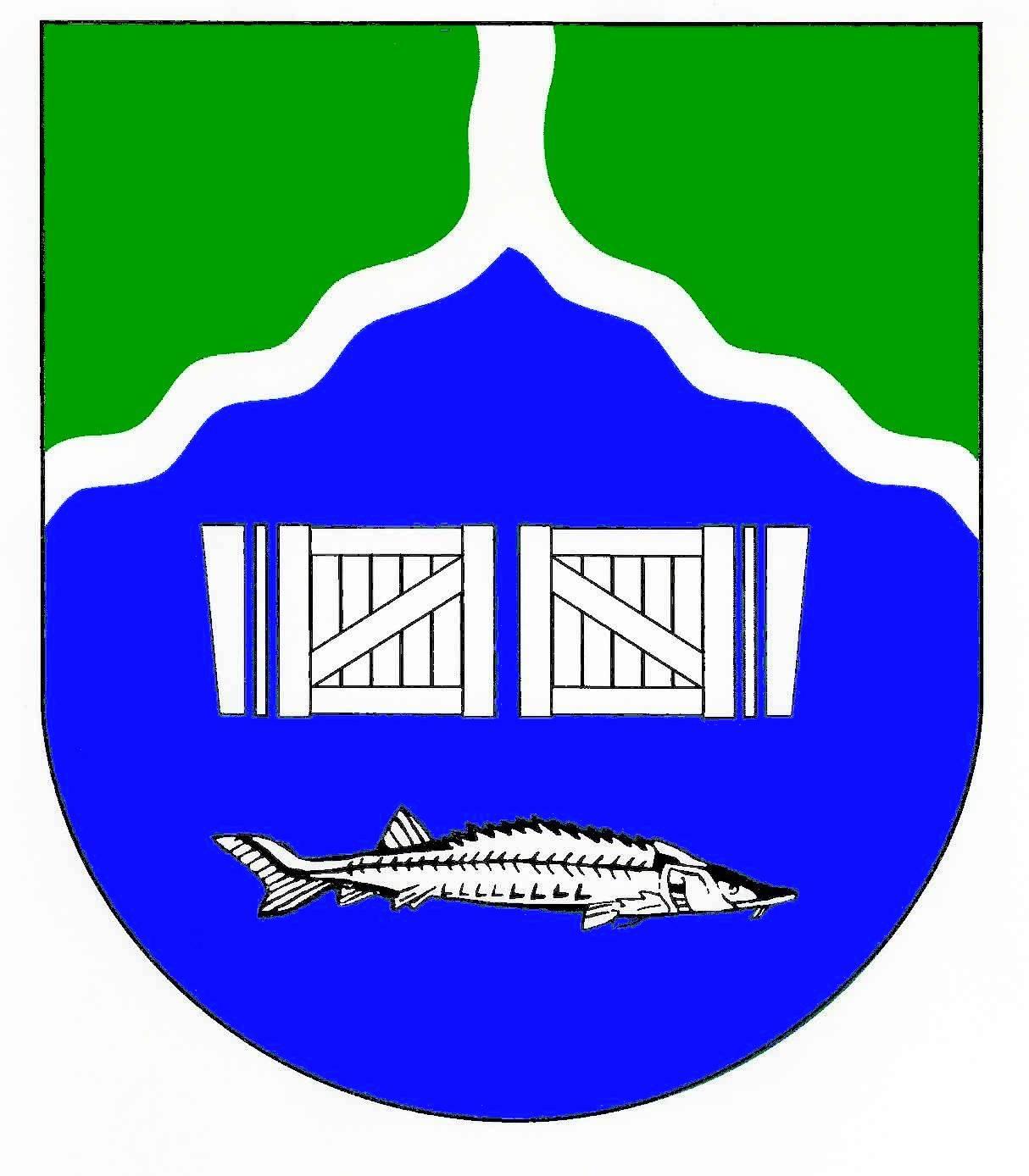 Wappen GemeindeBekmünde, Kreis Steinburg