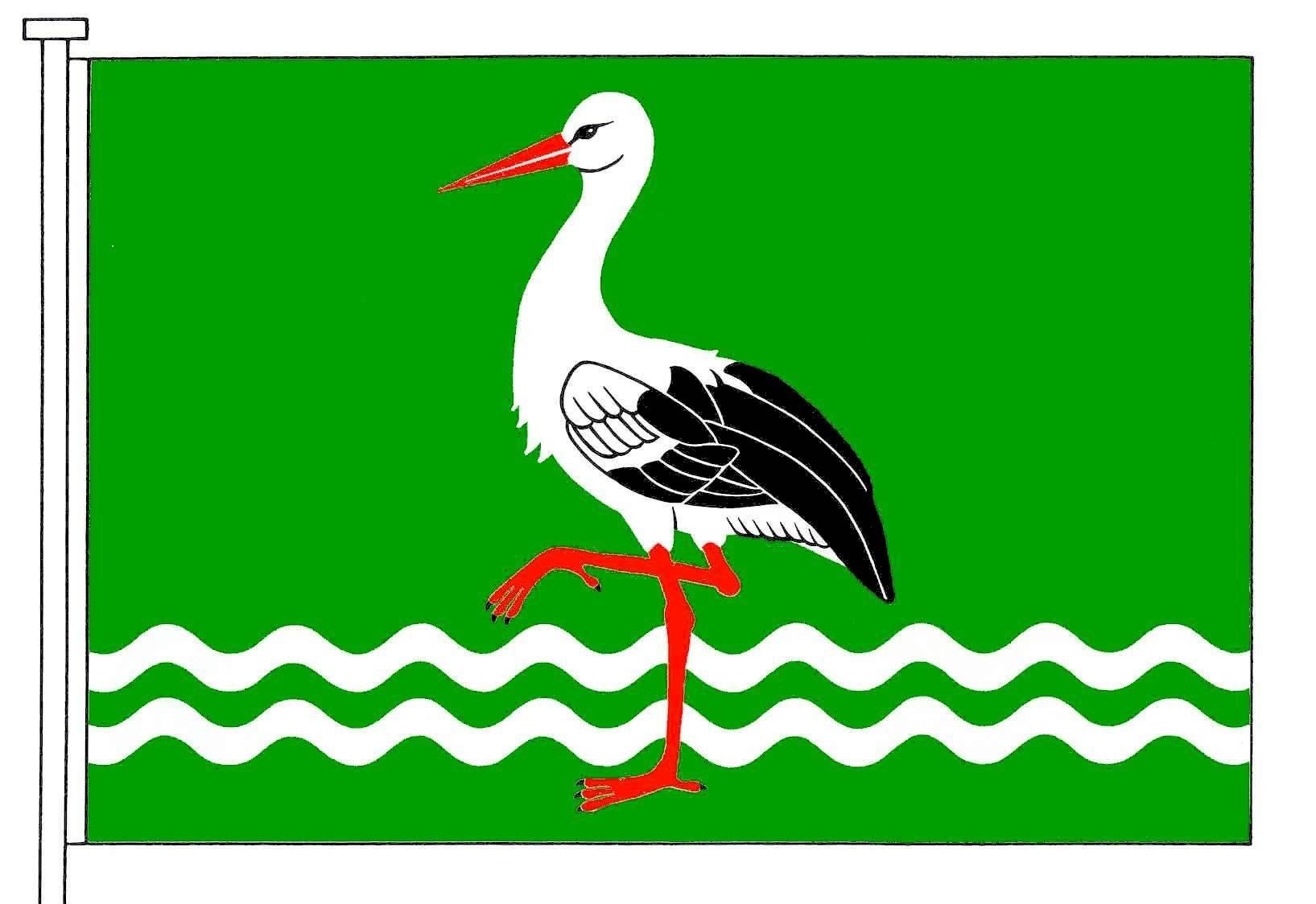 Flagge GemeindeBergenhusen, Kreis Schleswig-Flensburg