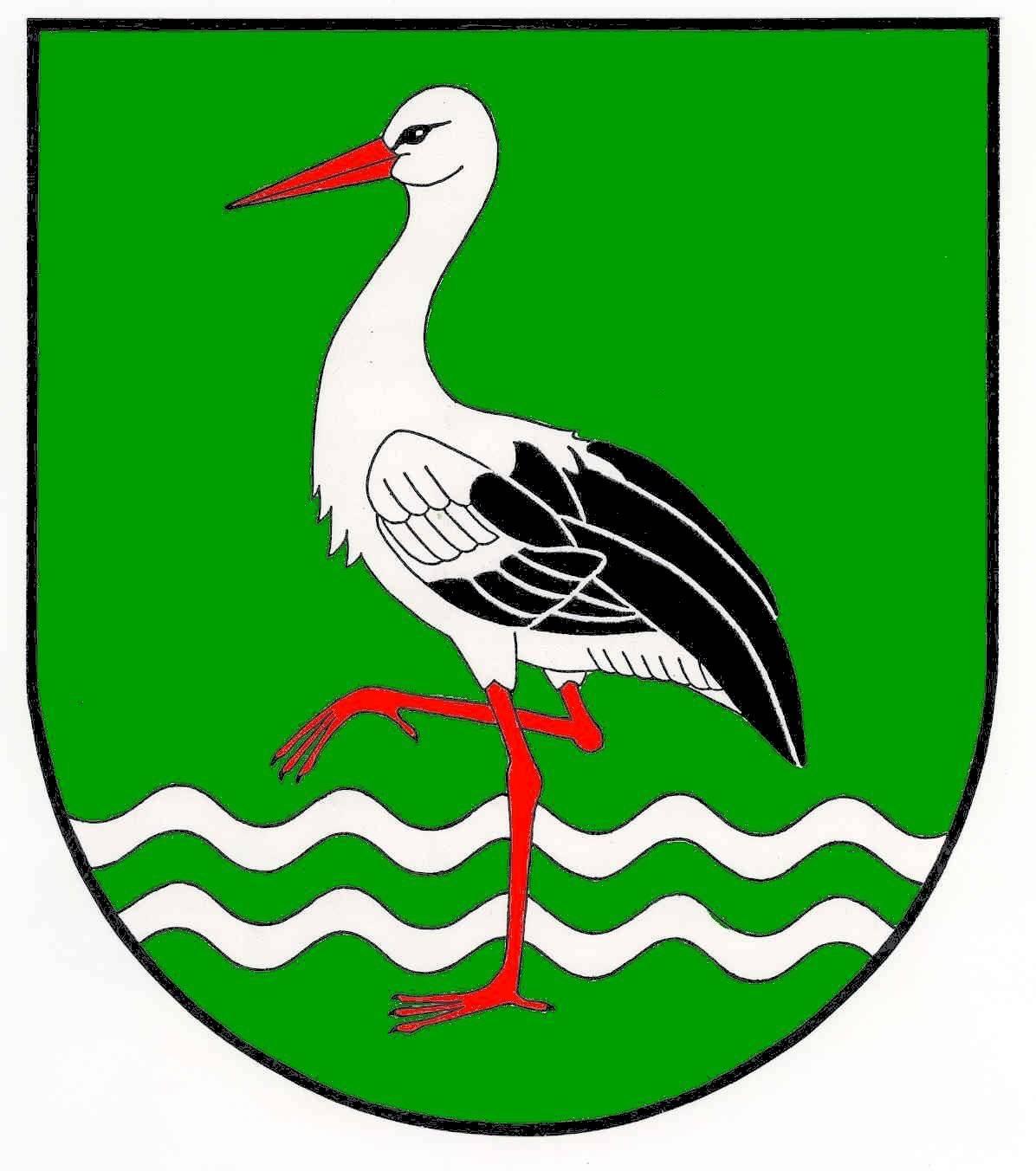 Wappen GemeindeBergenhusen, Kreis Schleswig-Flensburg