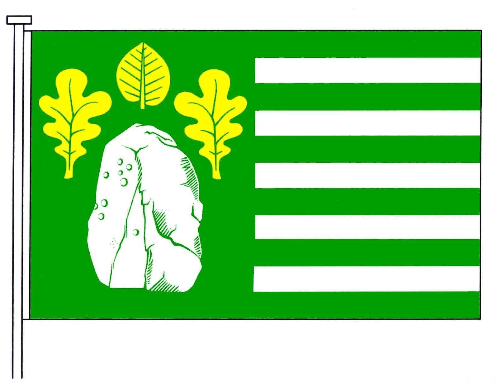 Flagge GemeindeBeringstedt, Kreis Rendsburg-Eckernförde