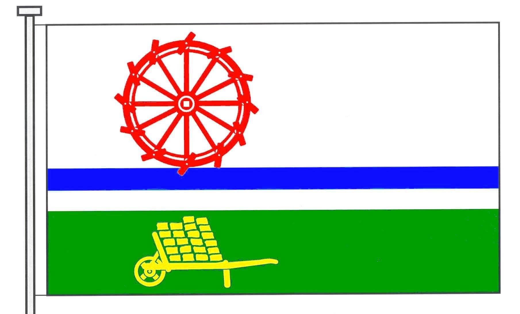 Flagge GemeindeBimöhlen, Kreis Segeberg