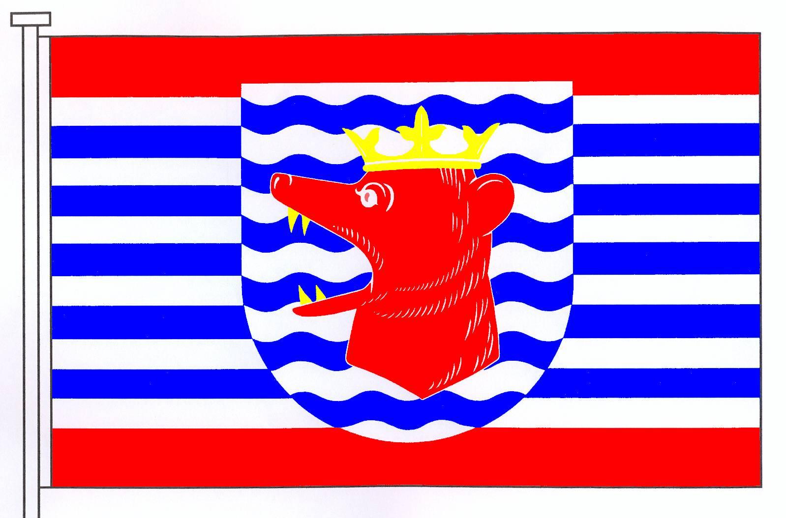 Flagge GemeindeBissee, Kreis Rendsburg-Eckernförde