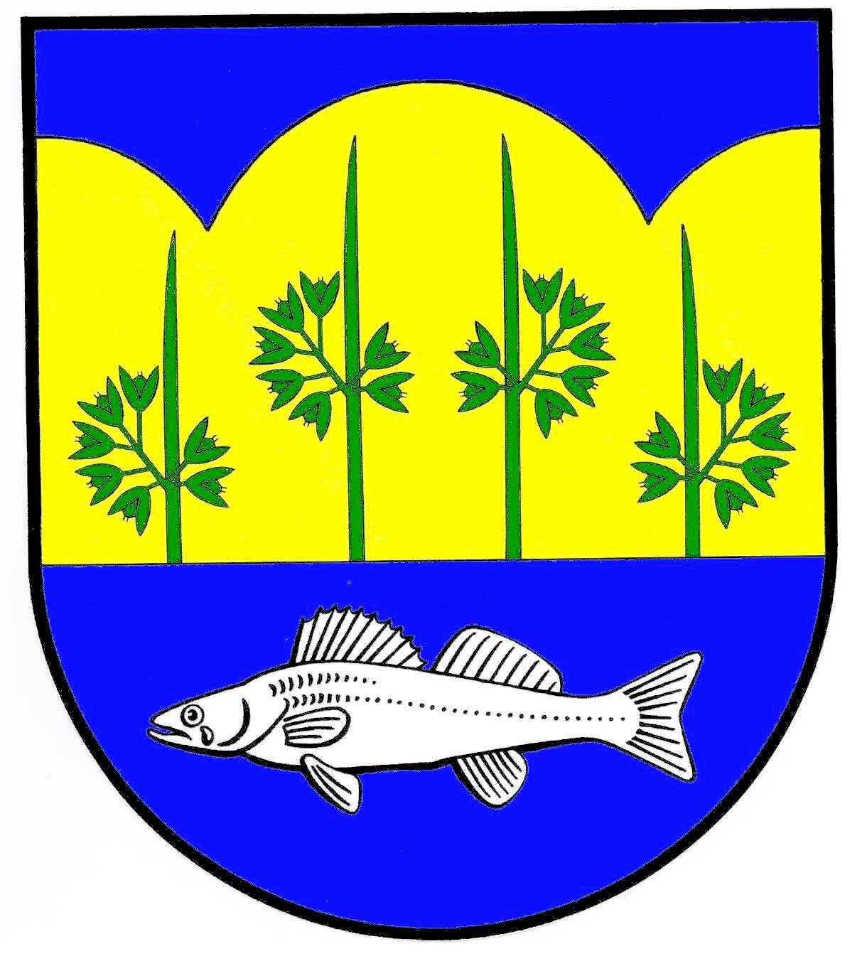 Wappen GemeindeBistensee, Kreis Rendsburg-Eckernförde