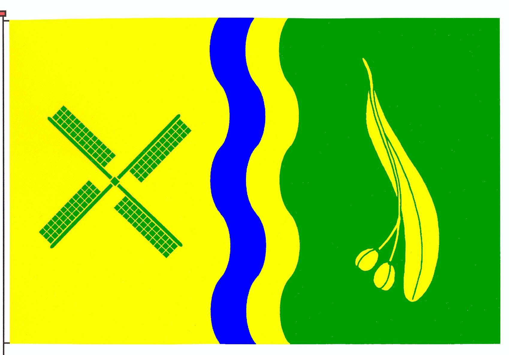 Flagge GemeindeBöel, Kreis Schleswig-Flensburg