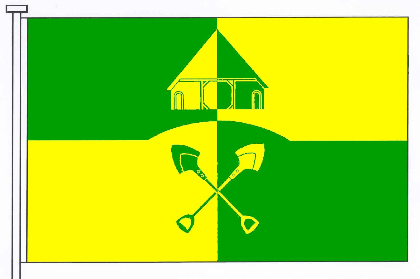 Flagge GemeindeBörm, Kreis Schleswig-Flensburg