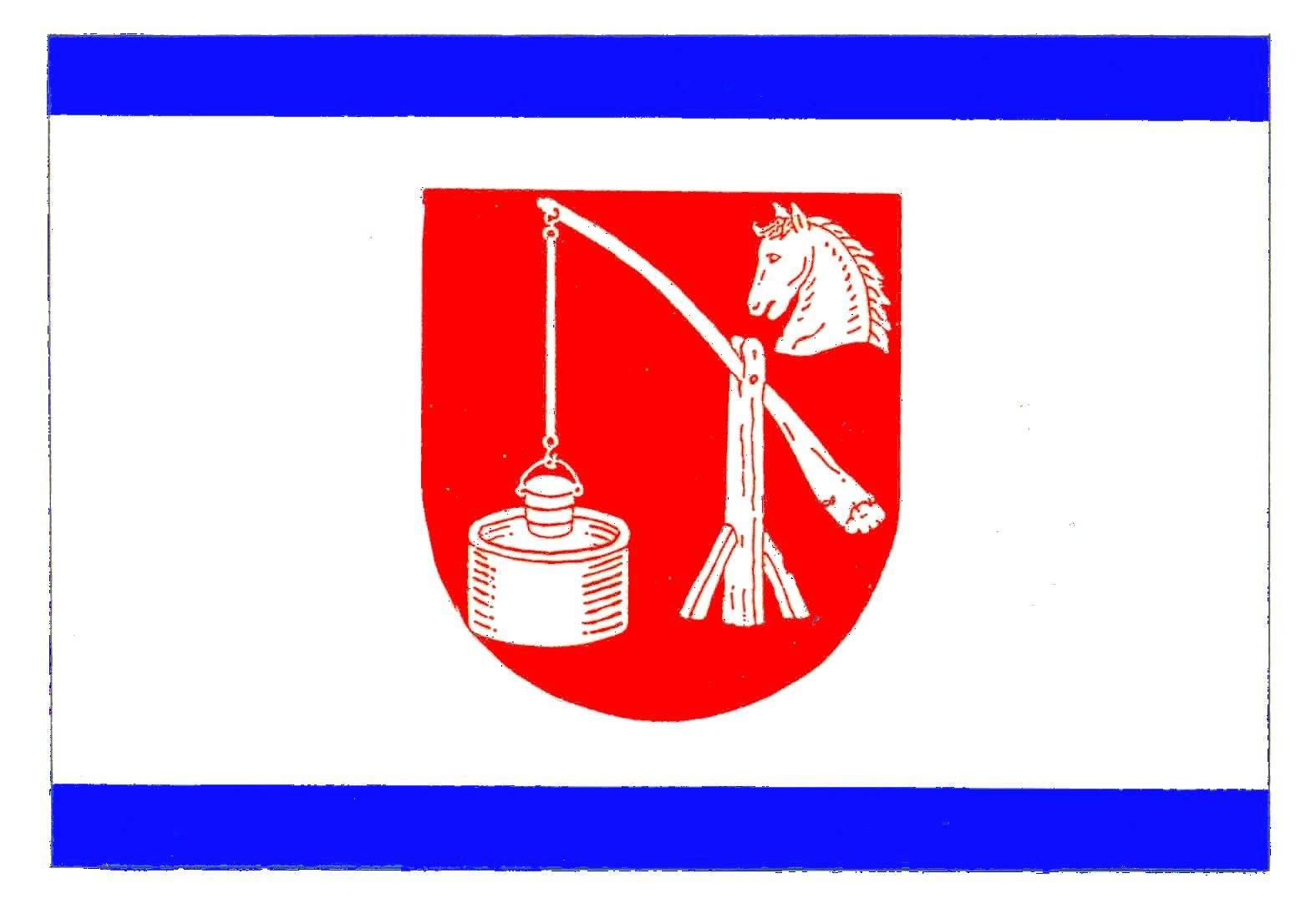 Flagge GemeindeBörnsen, Kreis Herzogtum Lauenburg