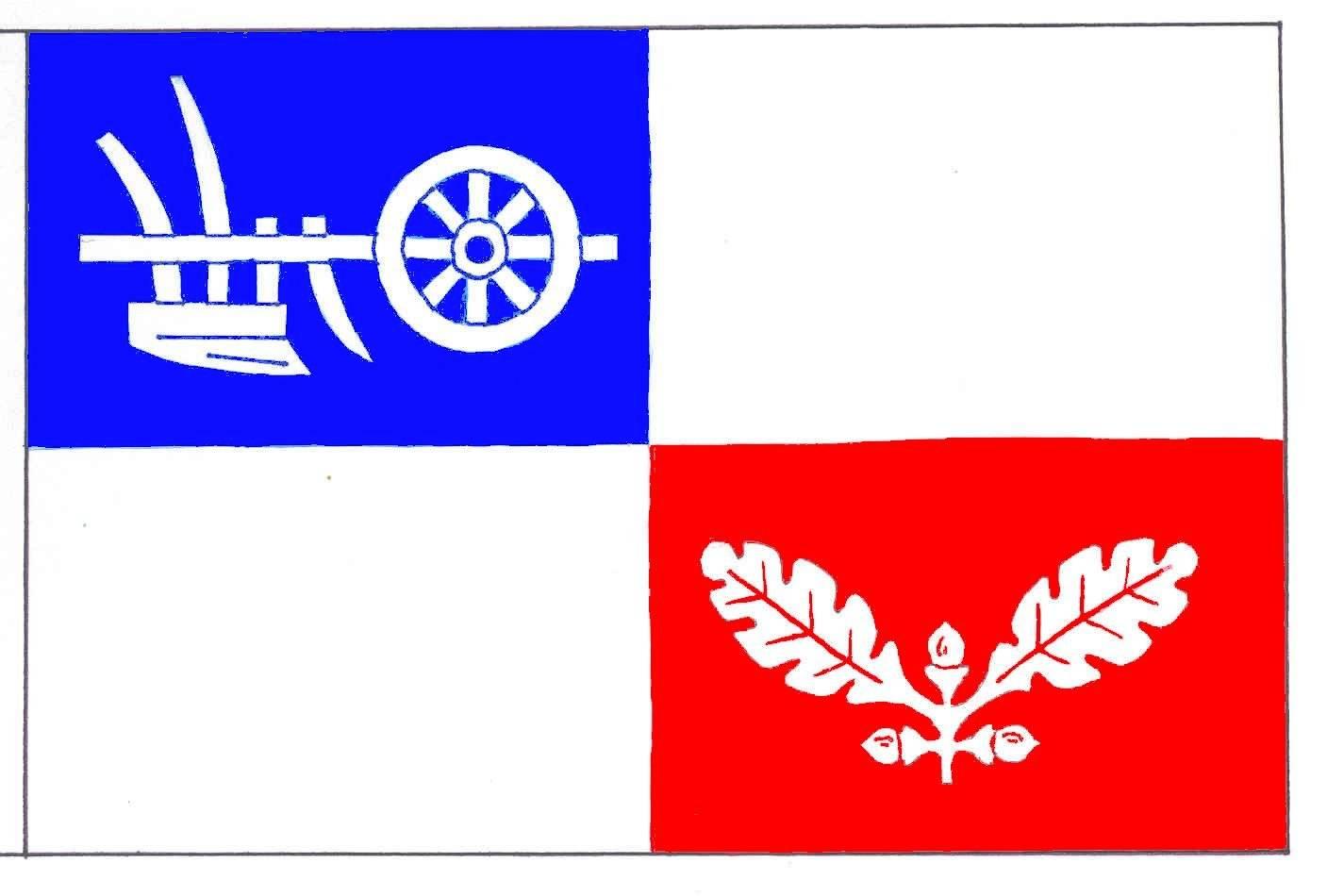 Flagge GemeindeBösdorf, Kreis Plön