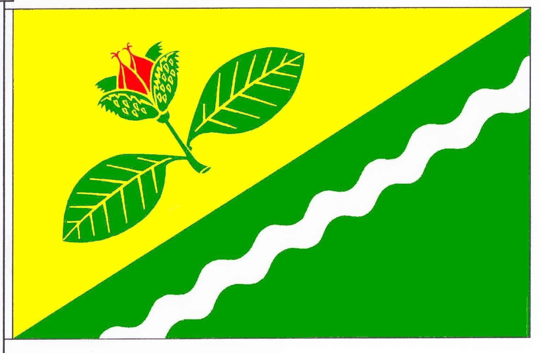 Flagge GemeindeBokelrehm, Kreis Steinburg