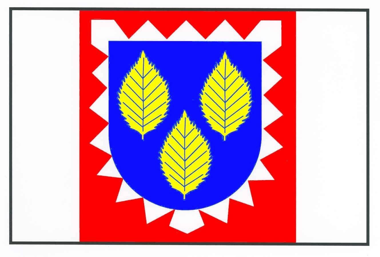 Flagge GemeindeBoksee, Kreis Plön