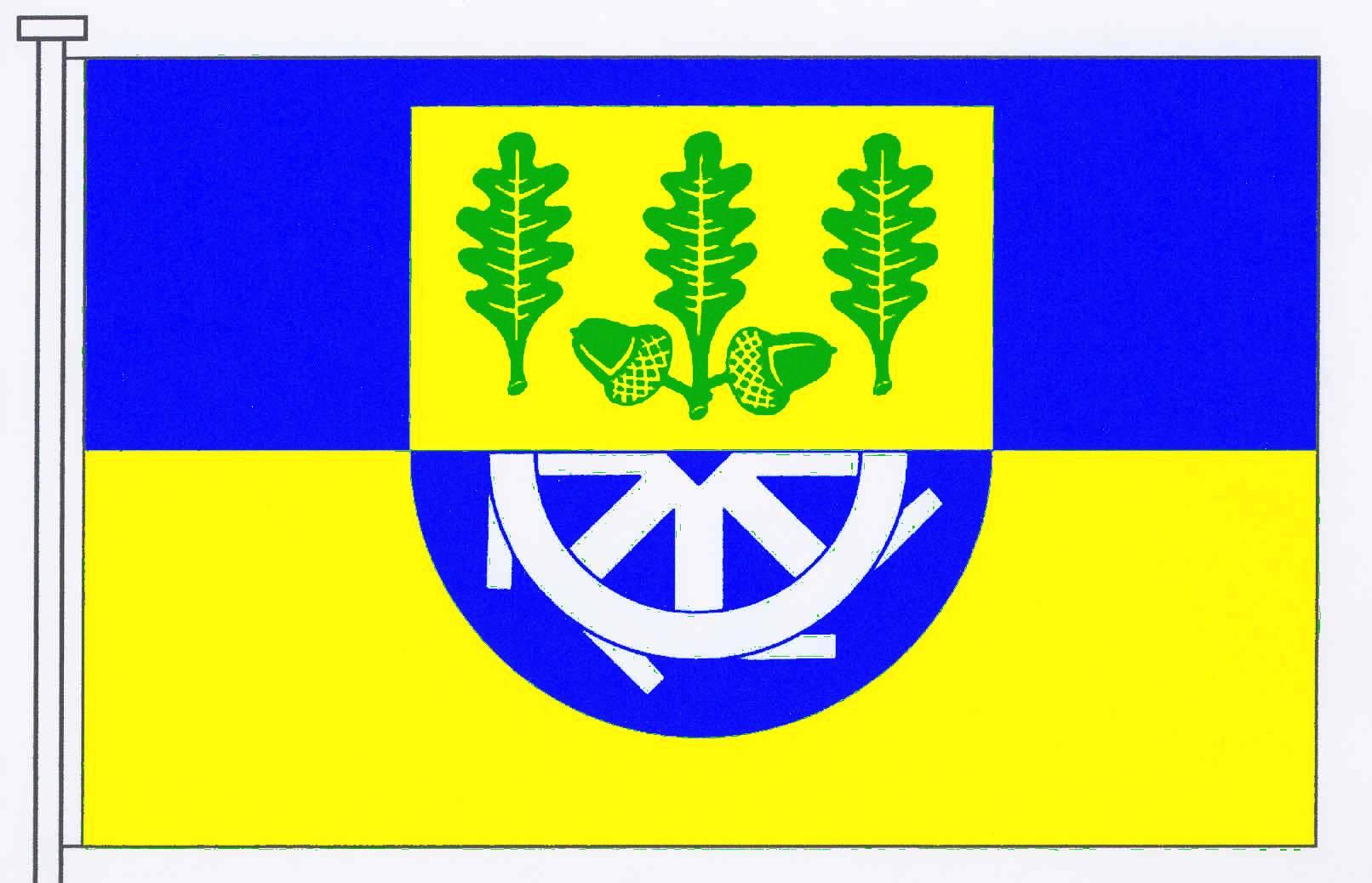 Flagge GemeindeBollingstedt, Kreis Schleswig-Flensburg