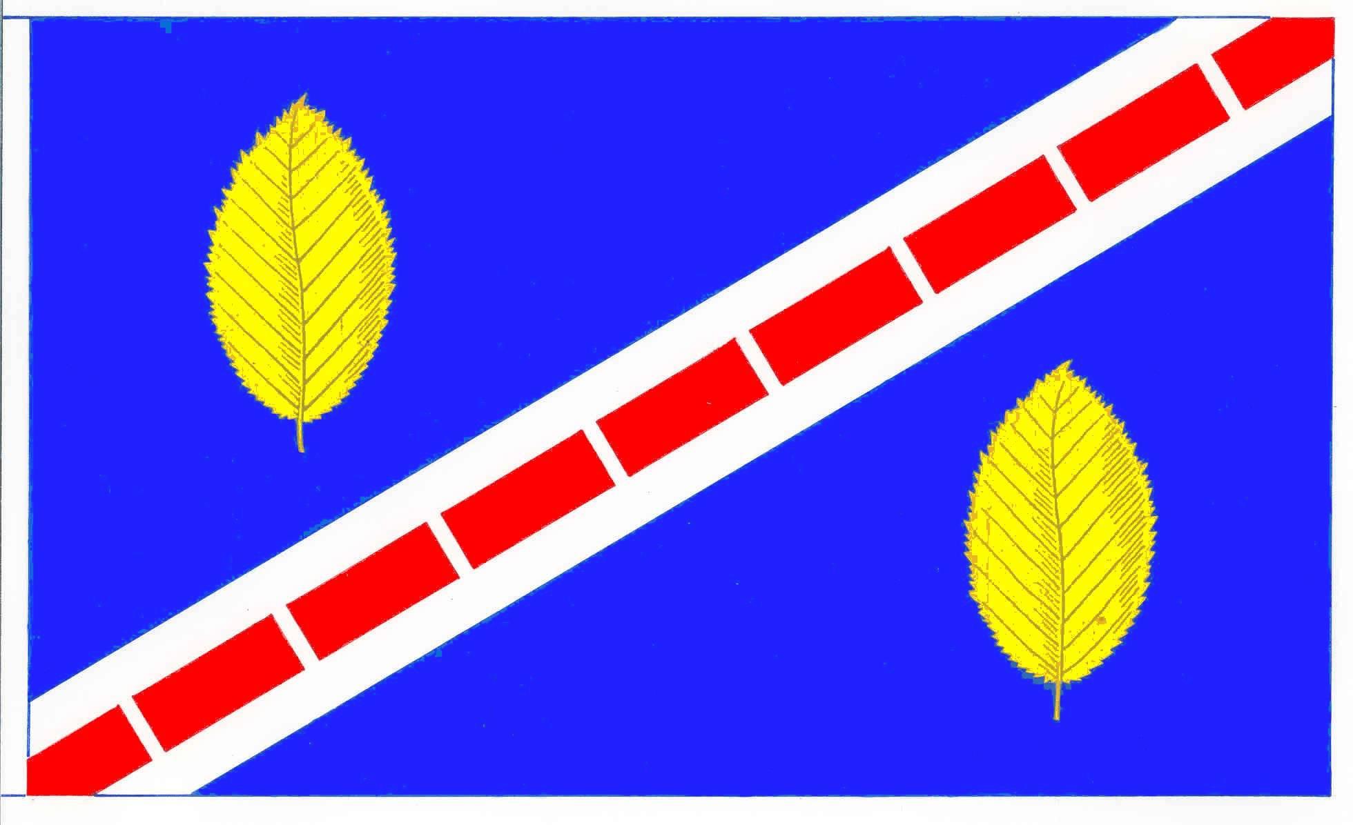 Flagge GemeindeBoostedt, Kreis Segeberg