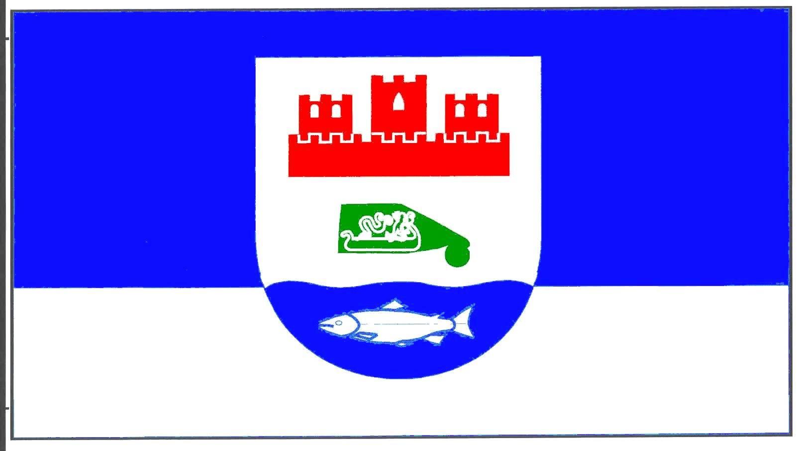 Flagge GemeindeBorgdorf-Seedorf, Kreis Rendsburg-Eckernförde