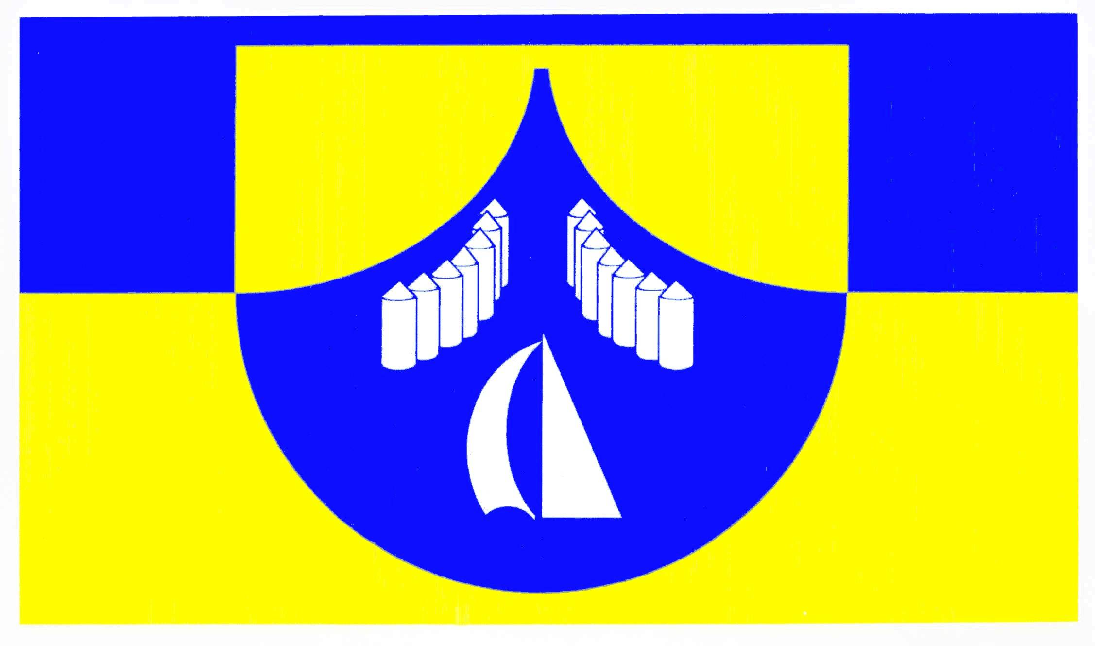 Flagge GemeindeBorgwedel, Kreis Schleswig-Flensburg