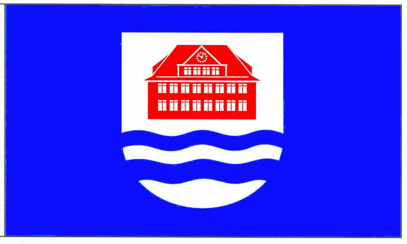 Flagge GemeindeBorstel-Hohenraden, Kreis Pinneberg