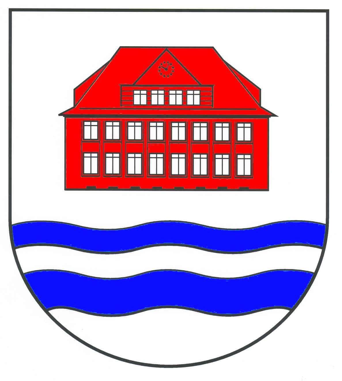 Wappen GemeindeBorstel-Hohenraden, Kreis Pinneberg