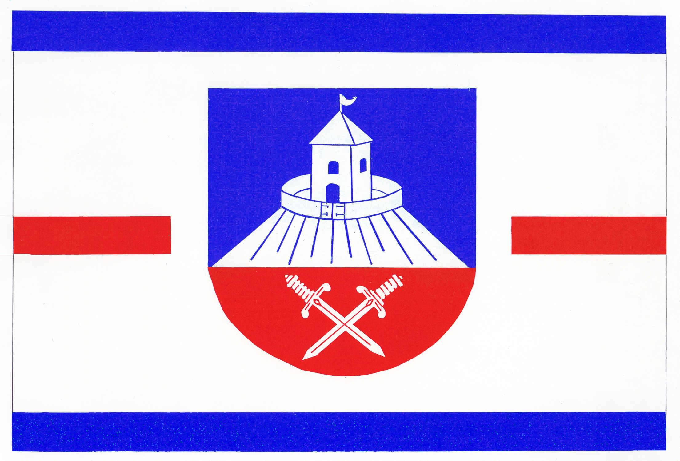 Flagge GemeindeBorstorf, Kreis Herzogtum Lauenburg