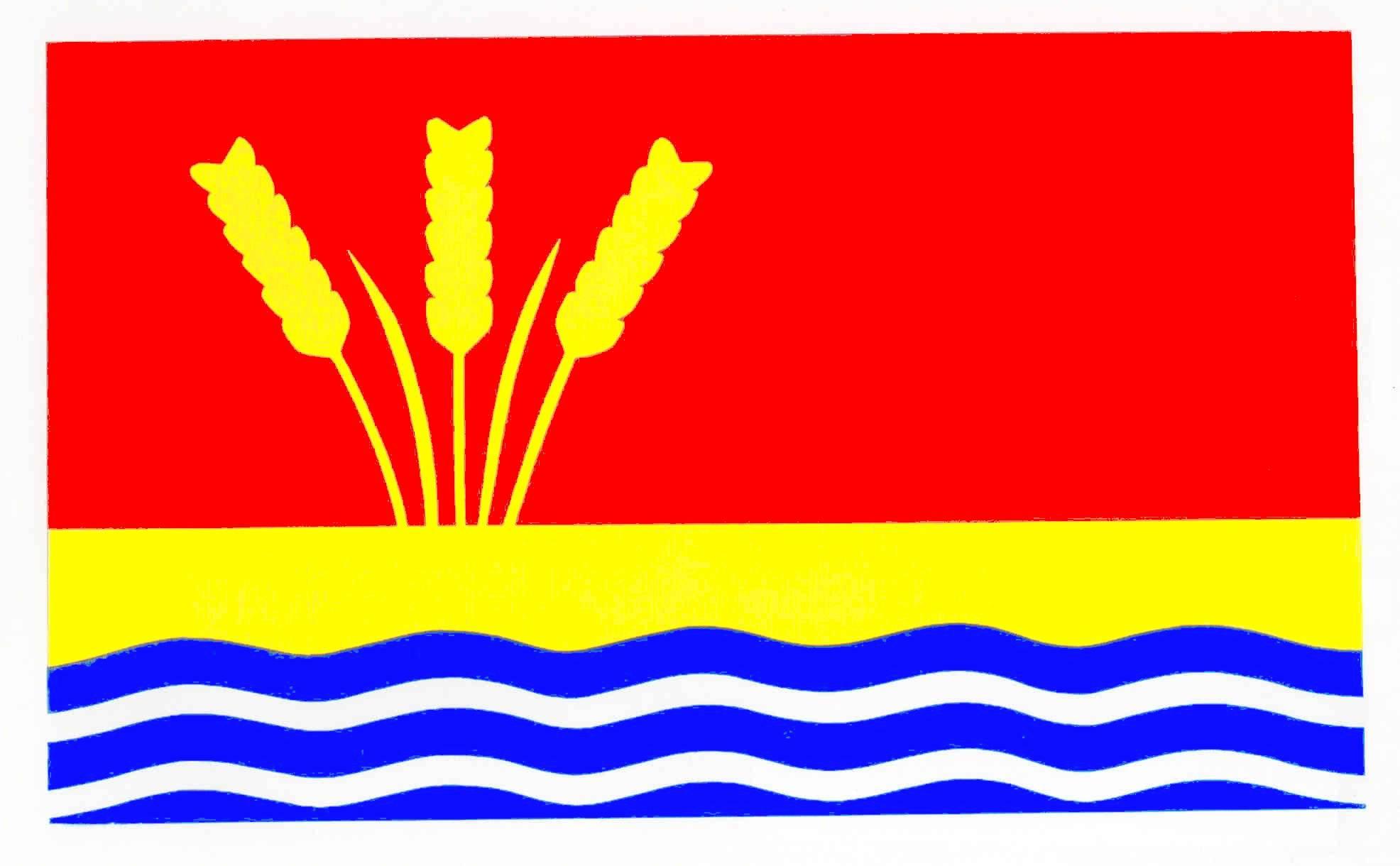 Flagge GemeindeBosbüll, Kreis Nordfriesland