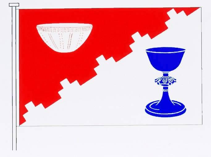 Flagge GemeindeBovenau, Kreis Rendsburg-Eckernförde