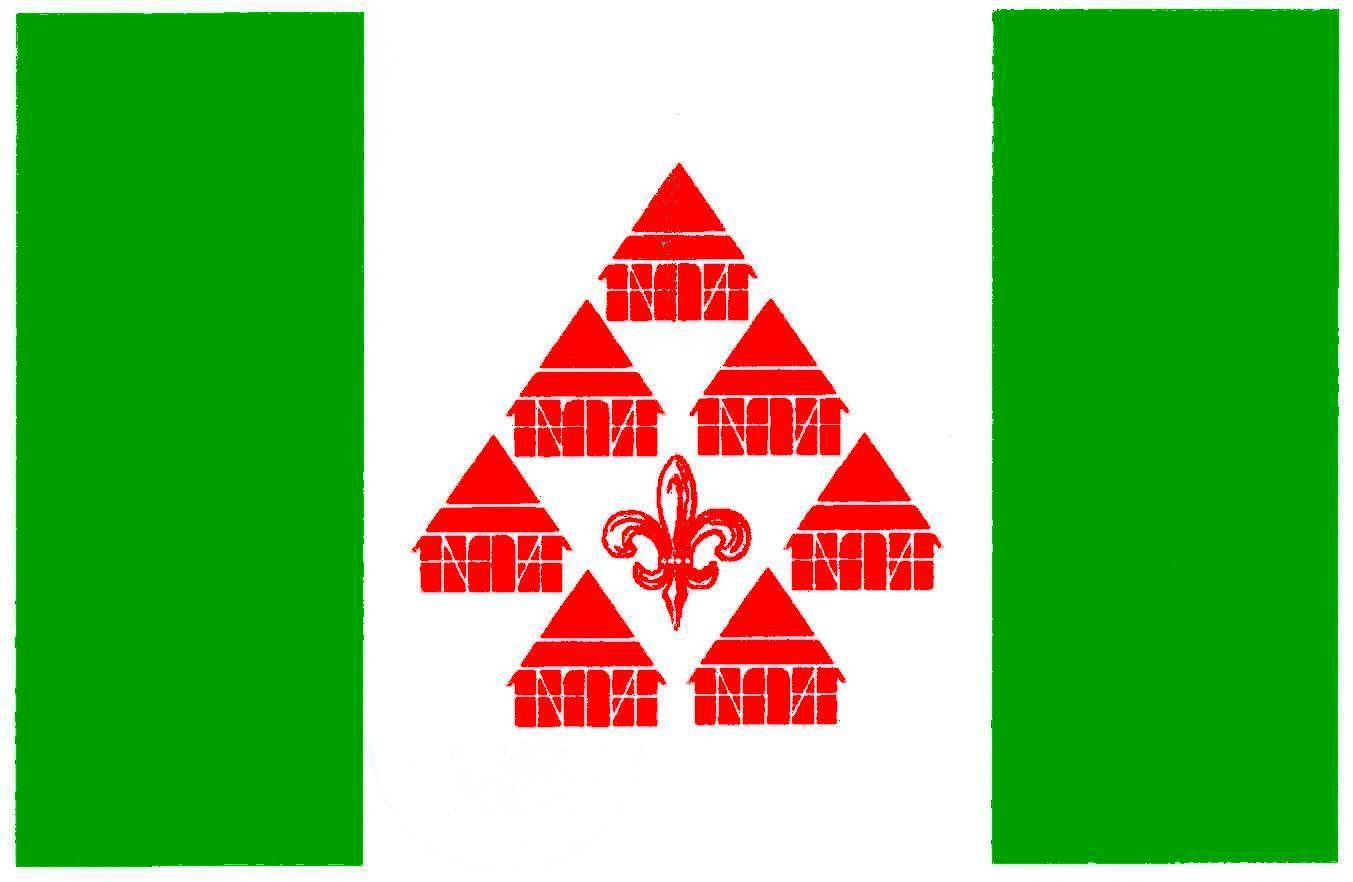 Flagge GemeindeBraak, Kreis Stormarn