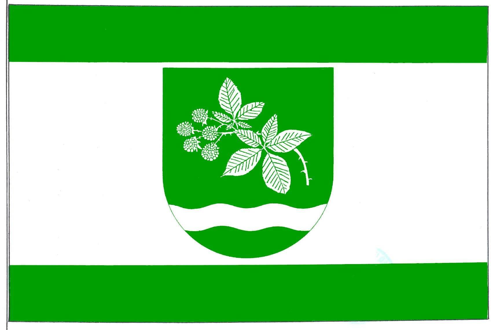 Flagge GemeindeBrammer, Kreis Rendsburg-Eckernförde