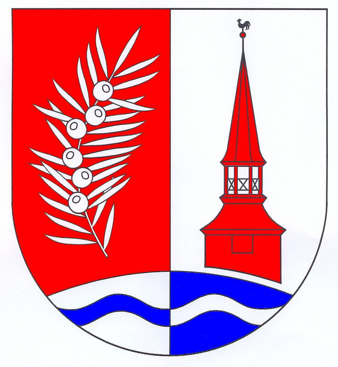 Wappen GemeindeBreitenberg, Kreis Steinburg