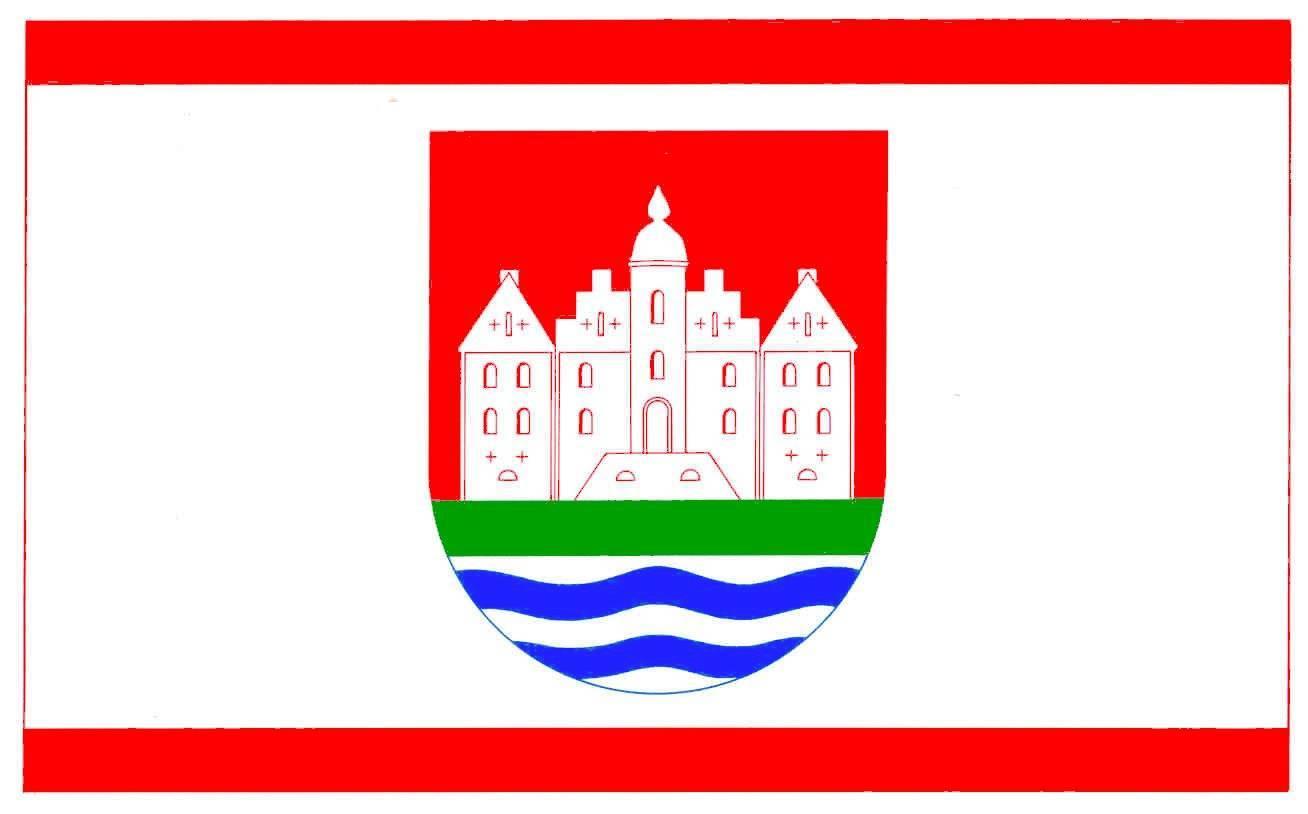 Flagge GemeindeBreitenburg, Kreis Steinburg