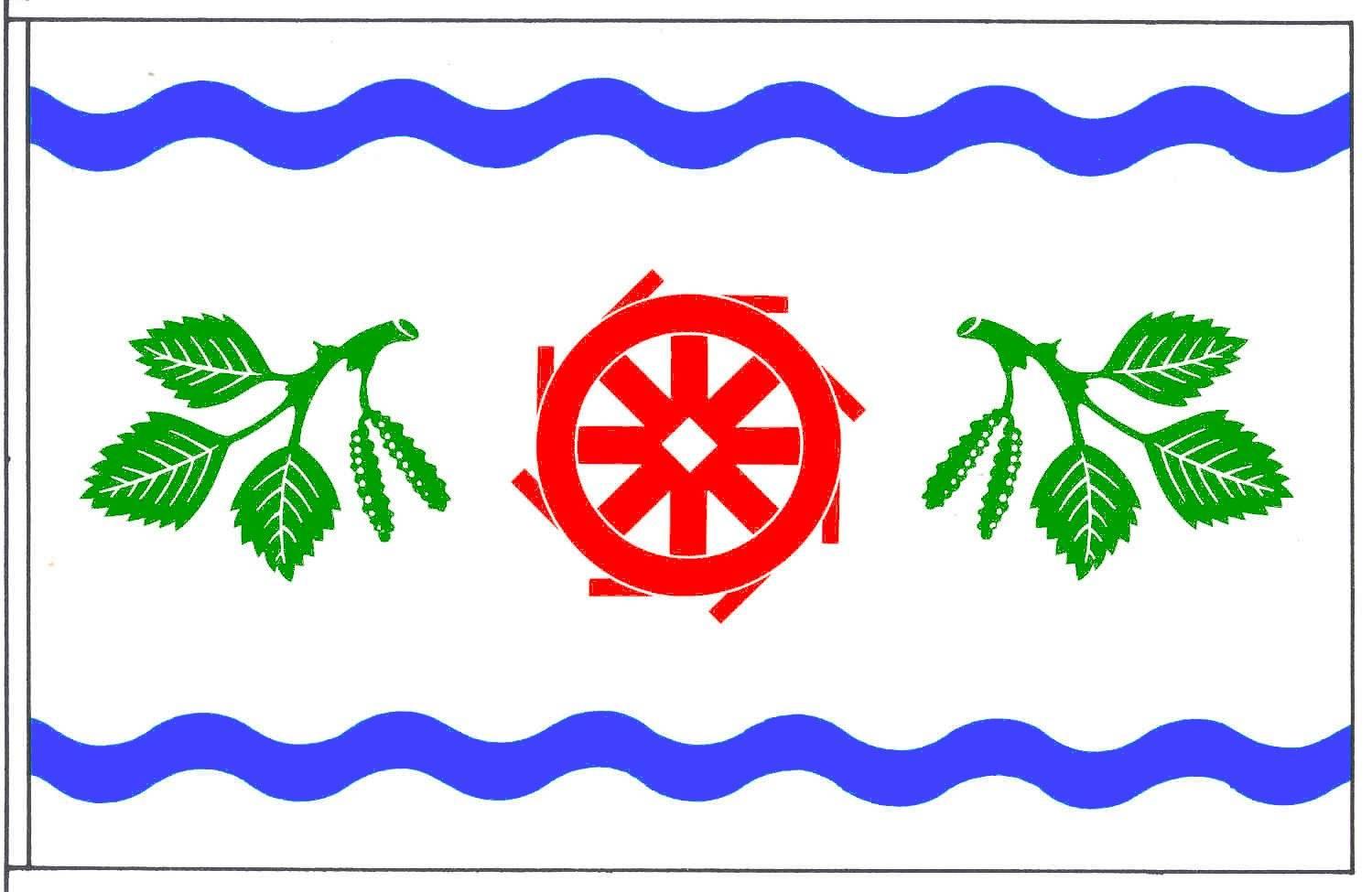 Flagge GemeindeBrickeln, Kreis Dithmarschen